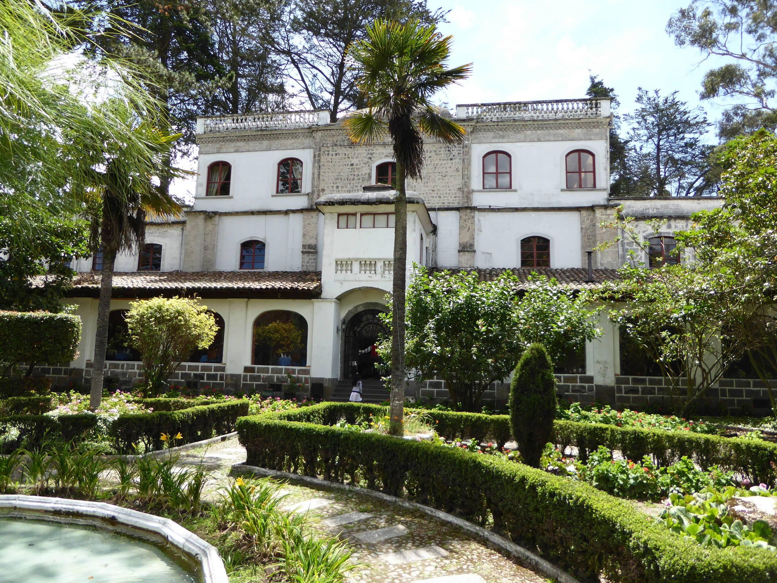 Lasso Hacienda La Cienega Equateur