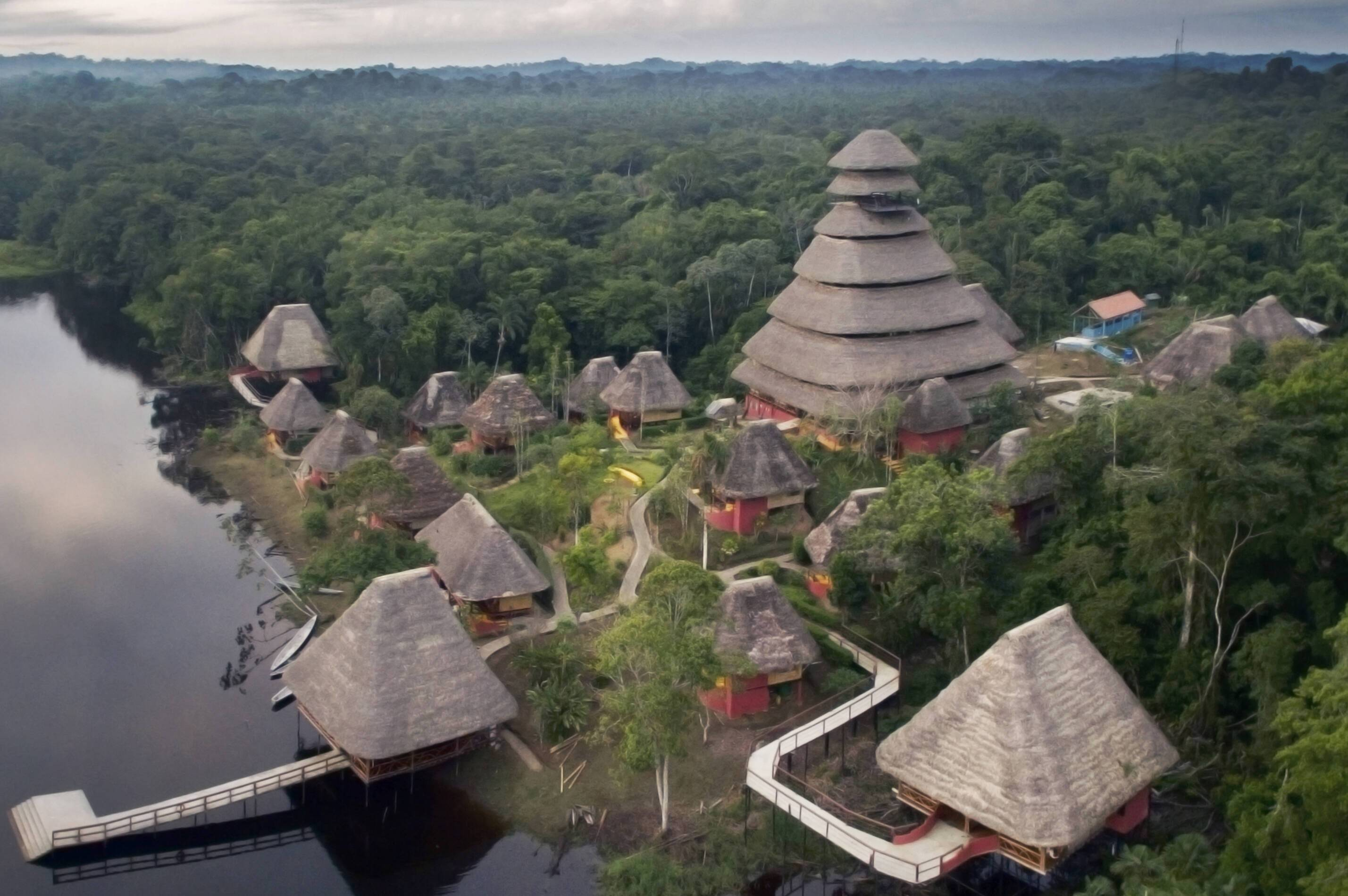 Napo Wildlife Center Vue Aerienne Equateur