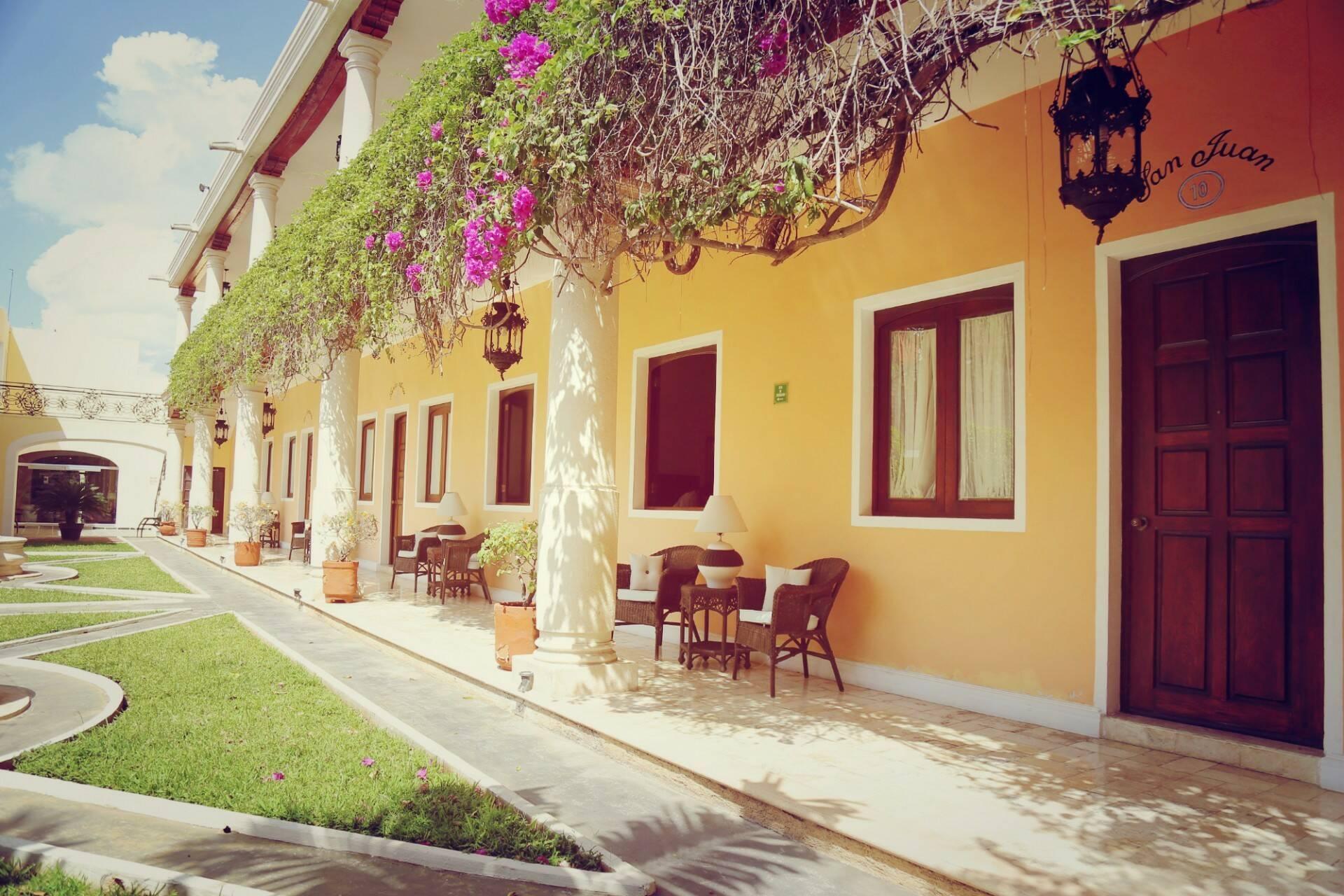 Merida Casa Lucia Jardins Circuit Yucatan