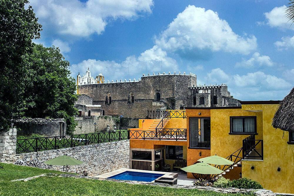 Rinconada del Convento Room Izamal Mexique
