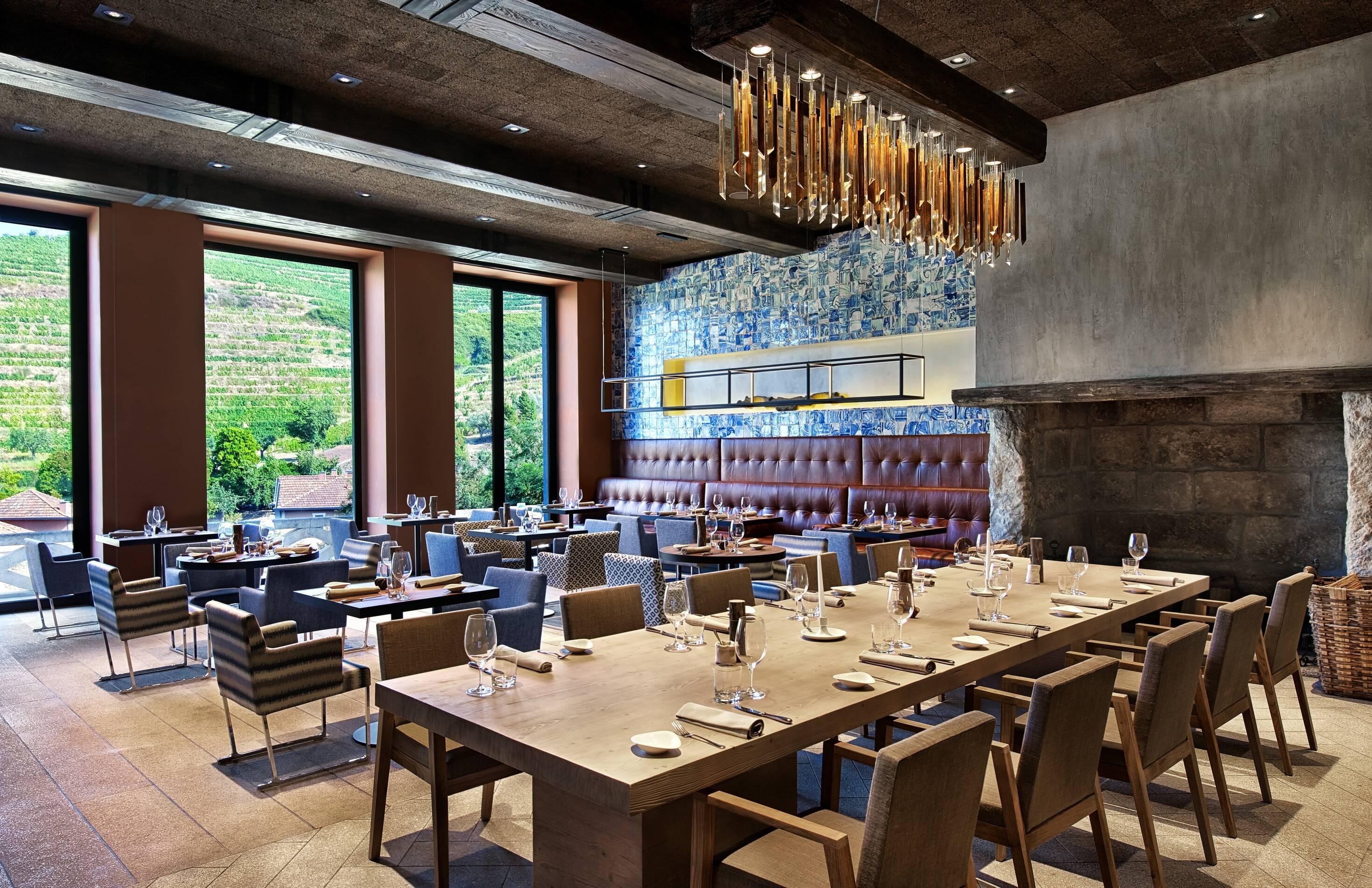 Six Senses Douro Valley Living Room Salle Repas