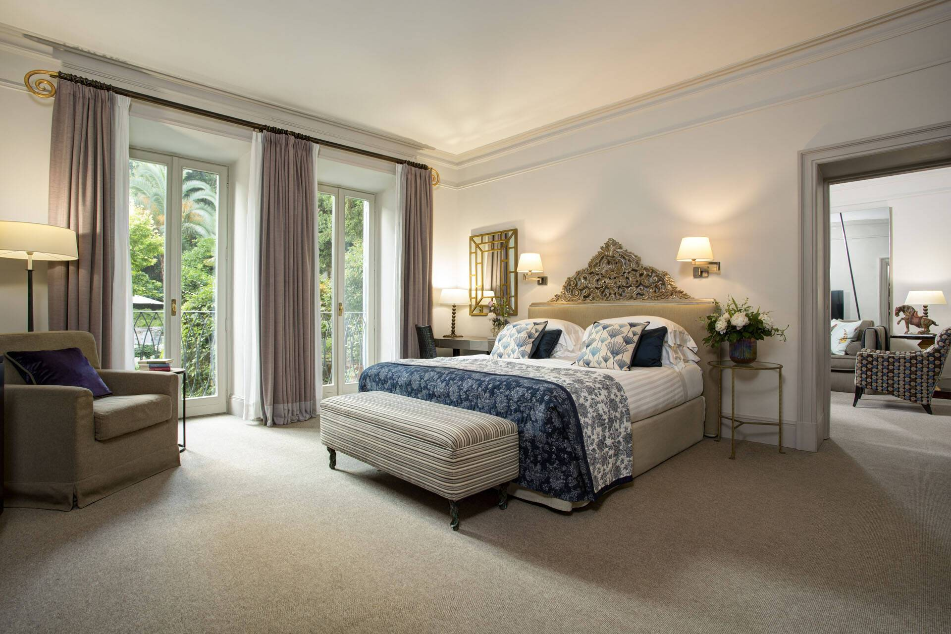 Hotel de Russie Rome Bedroom Classic Suite