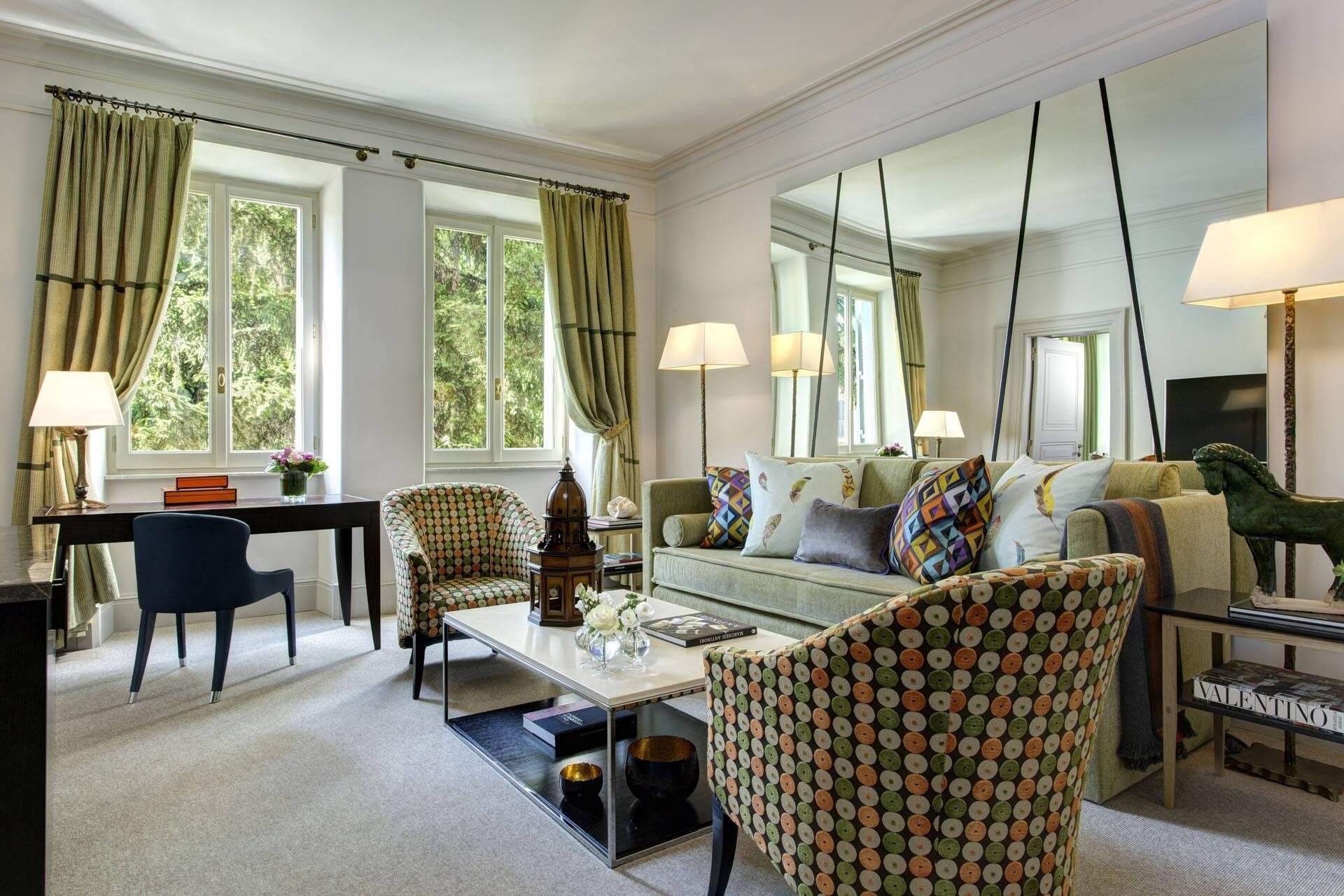 Hotel de Russie Rome Executive Suite