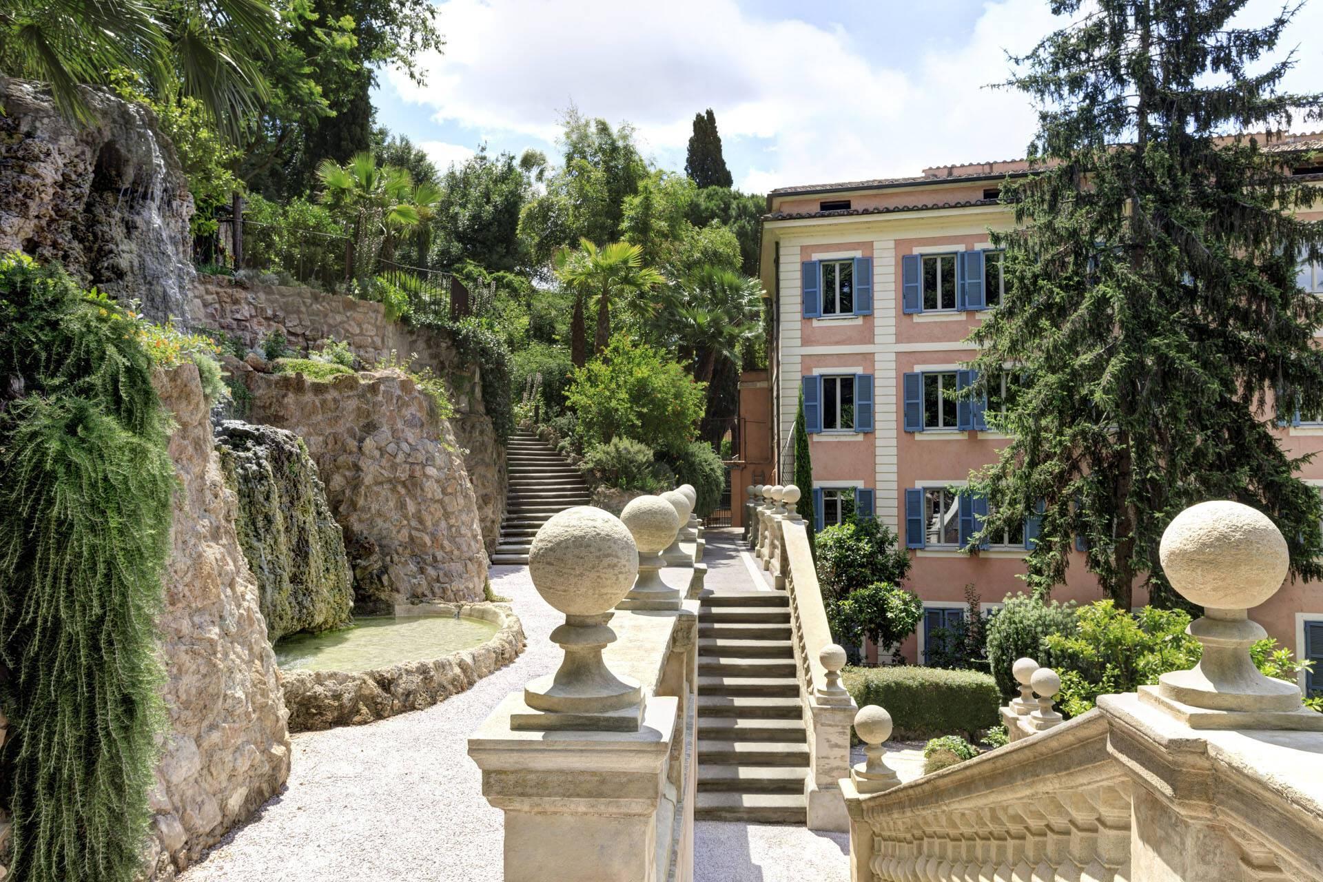 Hotel de Russie Rome Jardins