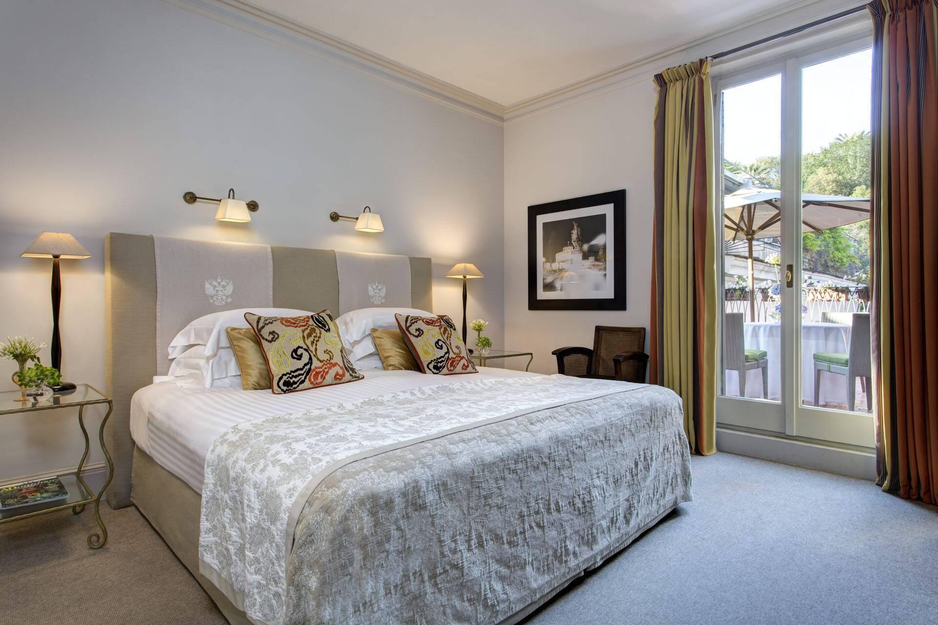 Hotel de Russie Rome Vaselli Suite Bedroom