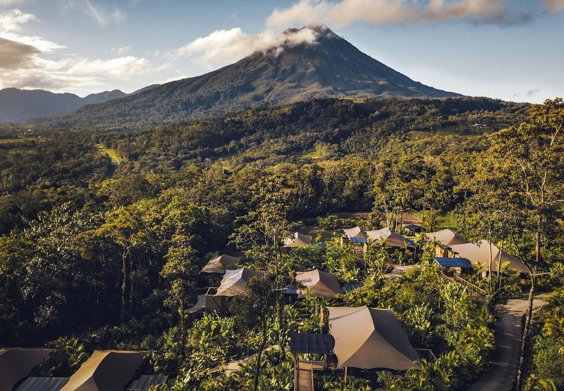 Costa Rica Nayara volcan