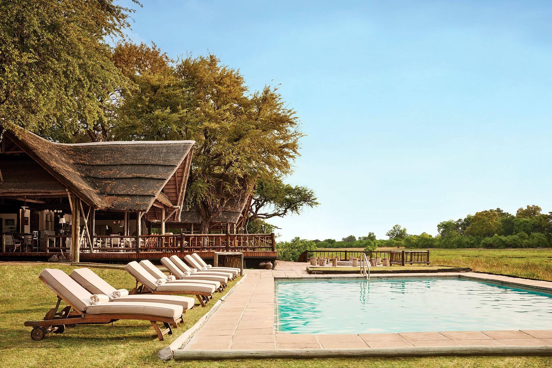 Belmond Khwai River Lodge Piscine Botswana