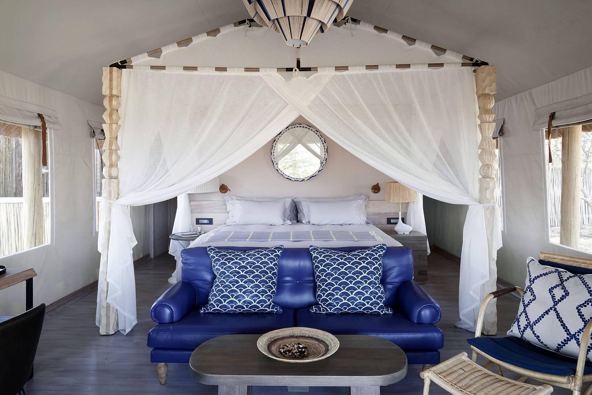 Belmond Savute Elephant Lodge Chambre Chobe Botswana