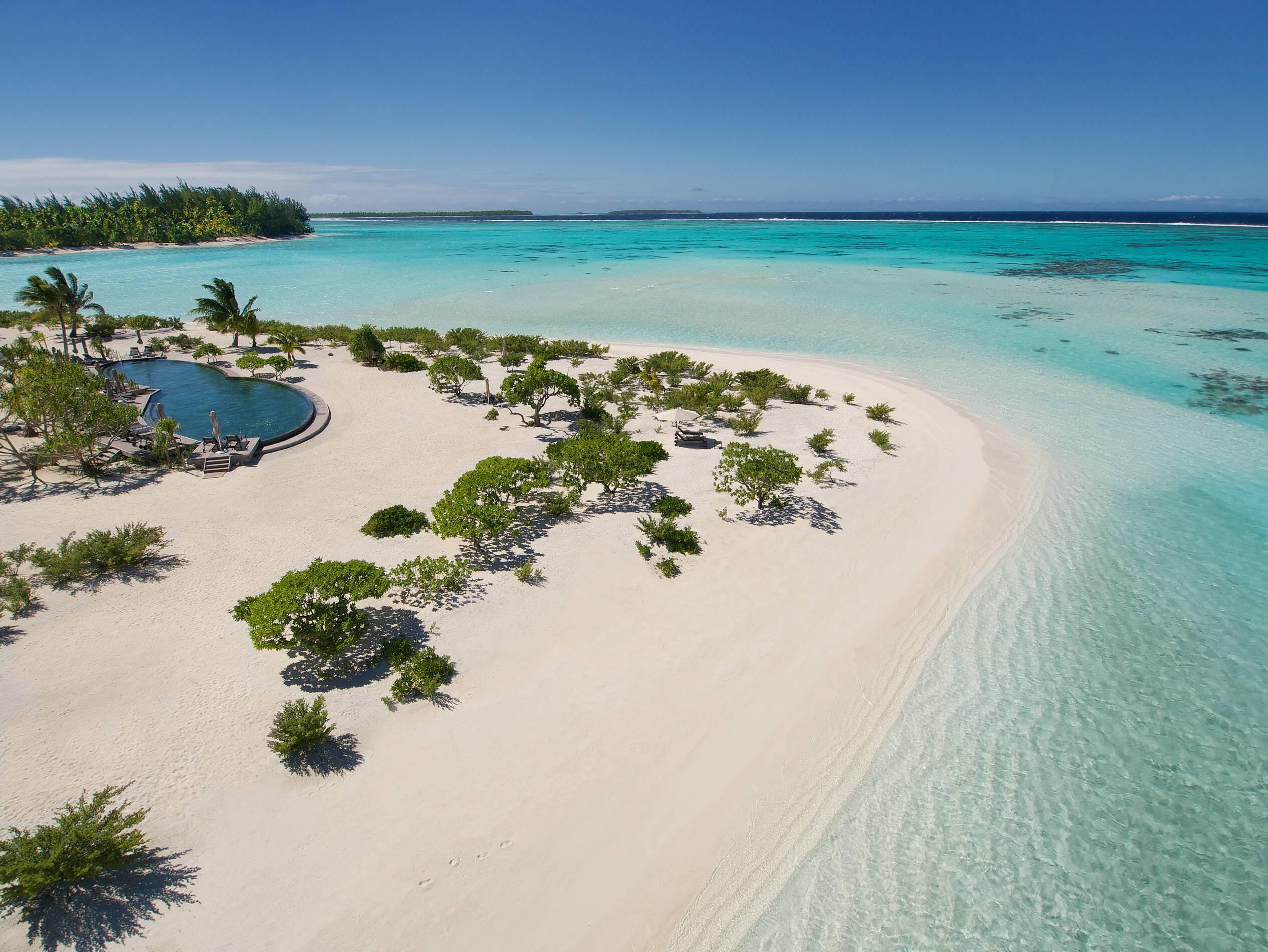 The Brando Piscine et Plage Polynesie Tetiaroa