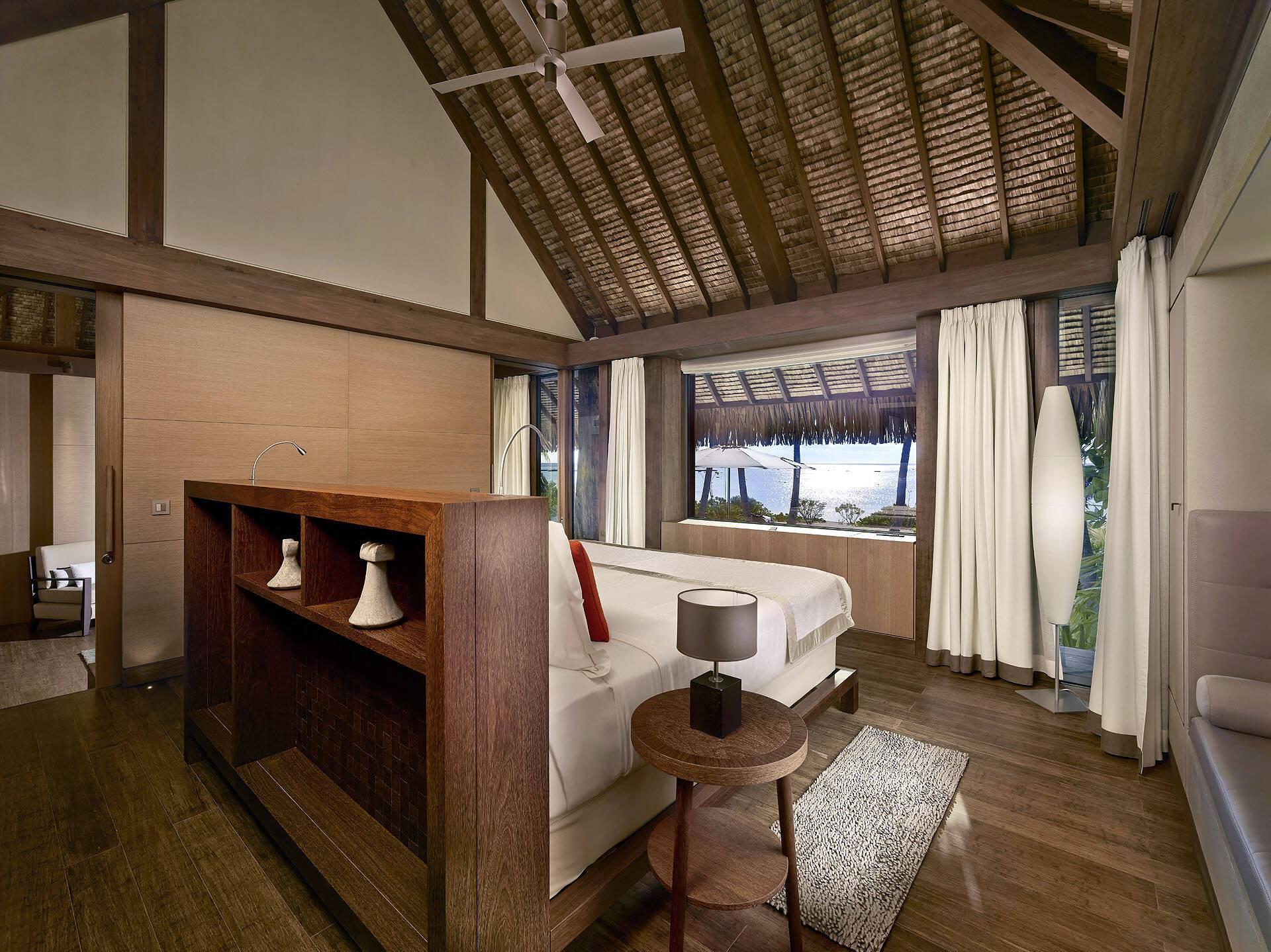 The Brando Polynesie Chambre