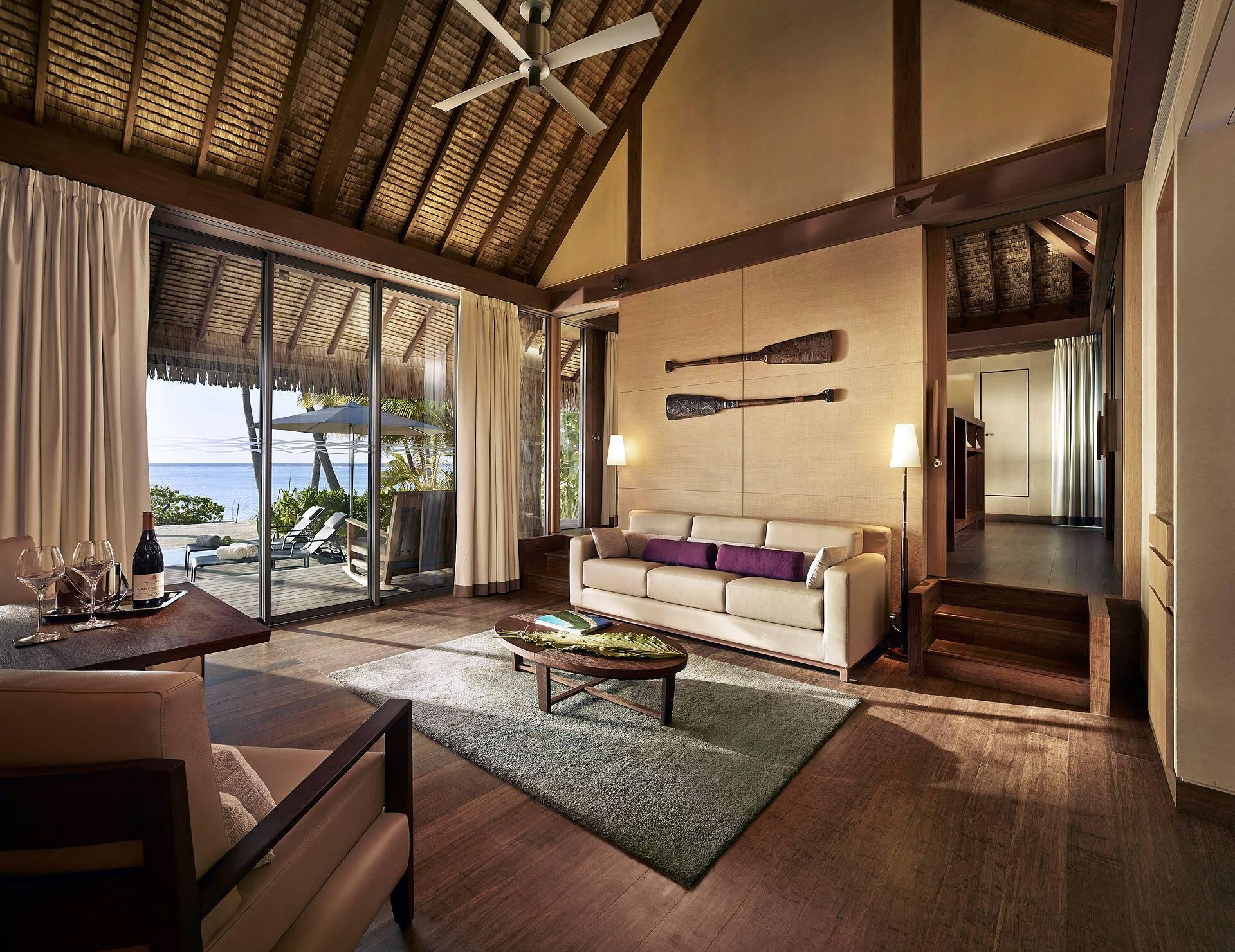 The Brando Polynesie Salon Villa