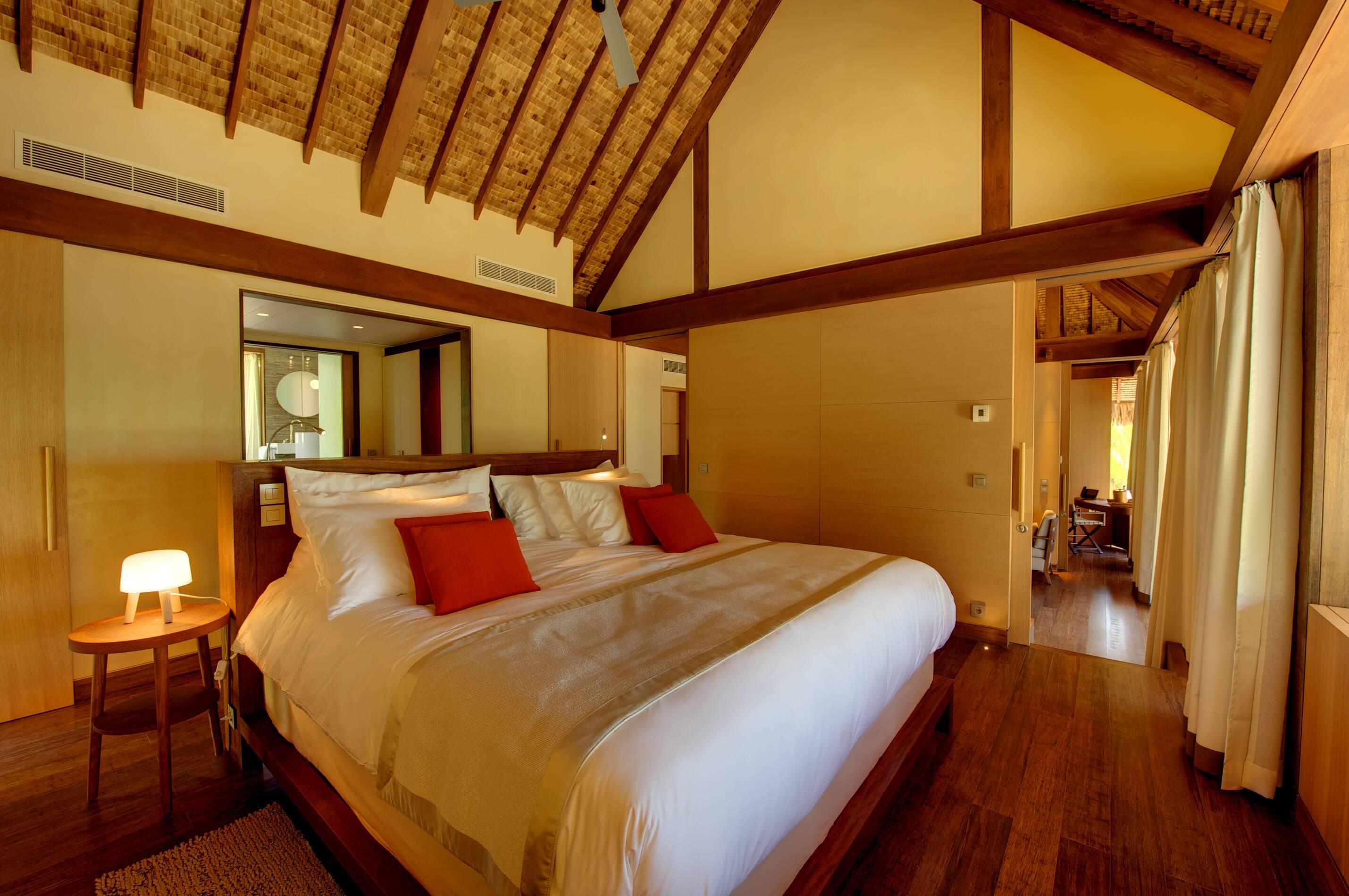 The Brando Villa Chambre Polynesie Tetiaroa