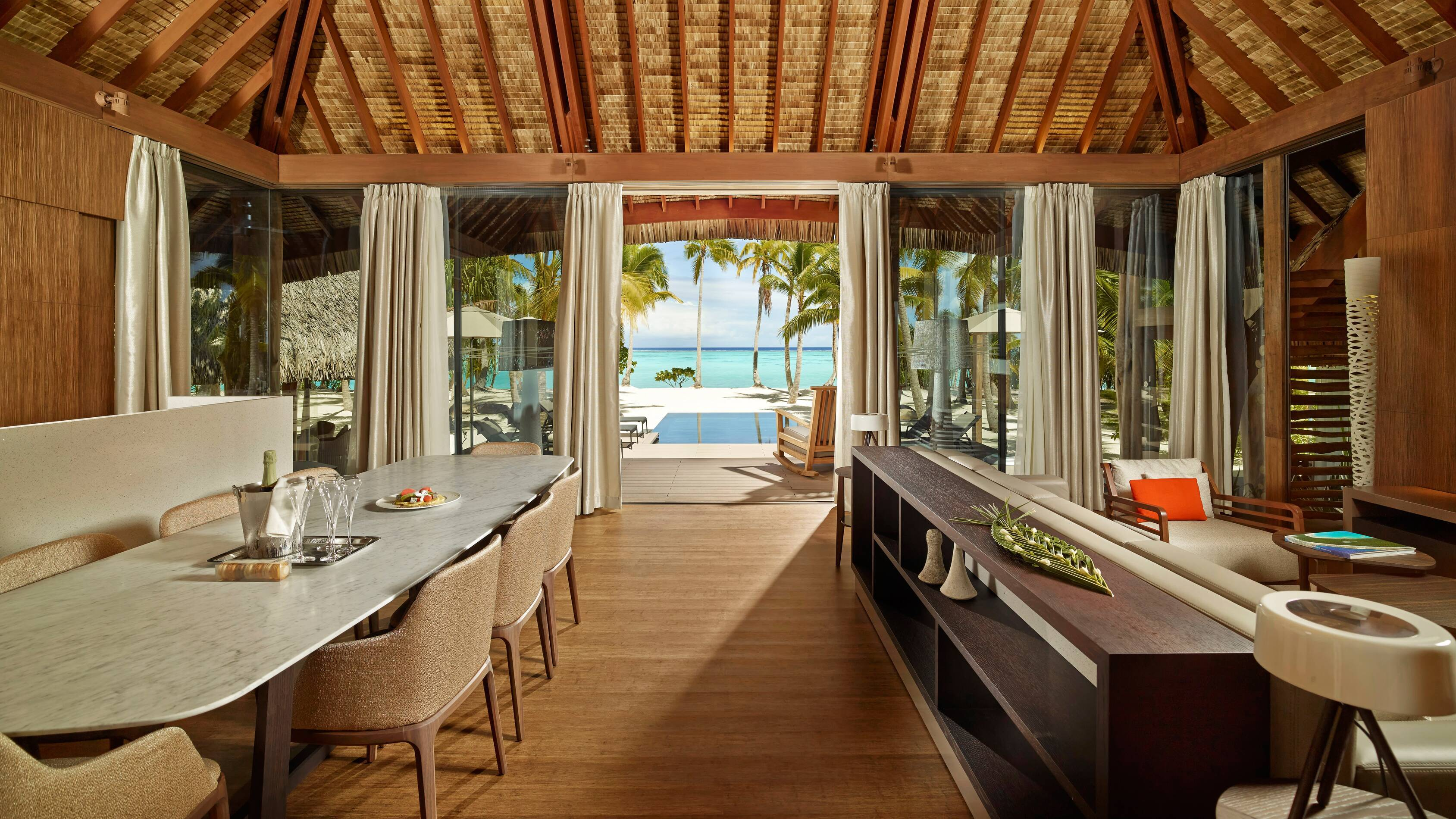The Brando Villa 3 Chambres Salon Polynesie Tetiaroa