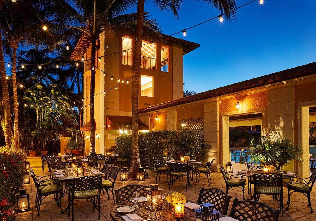 Biltmore Miami Restaurant Cascade Patio