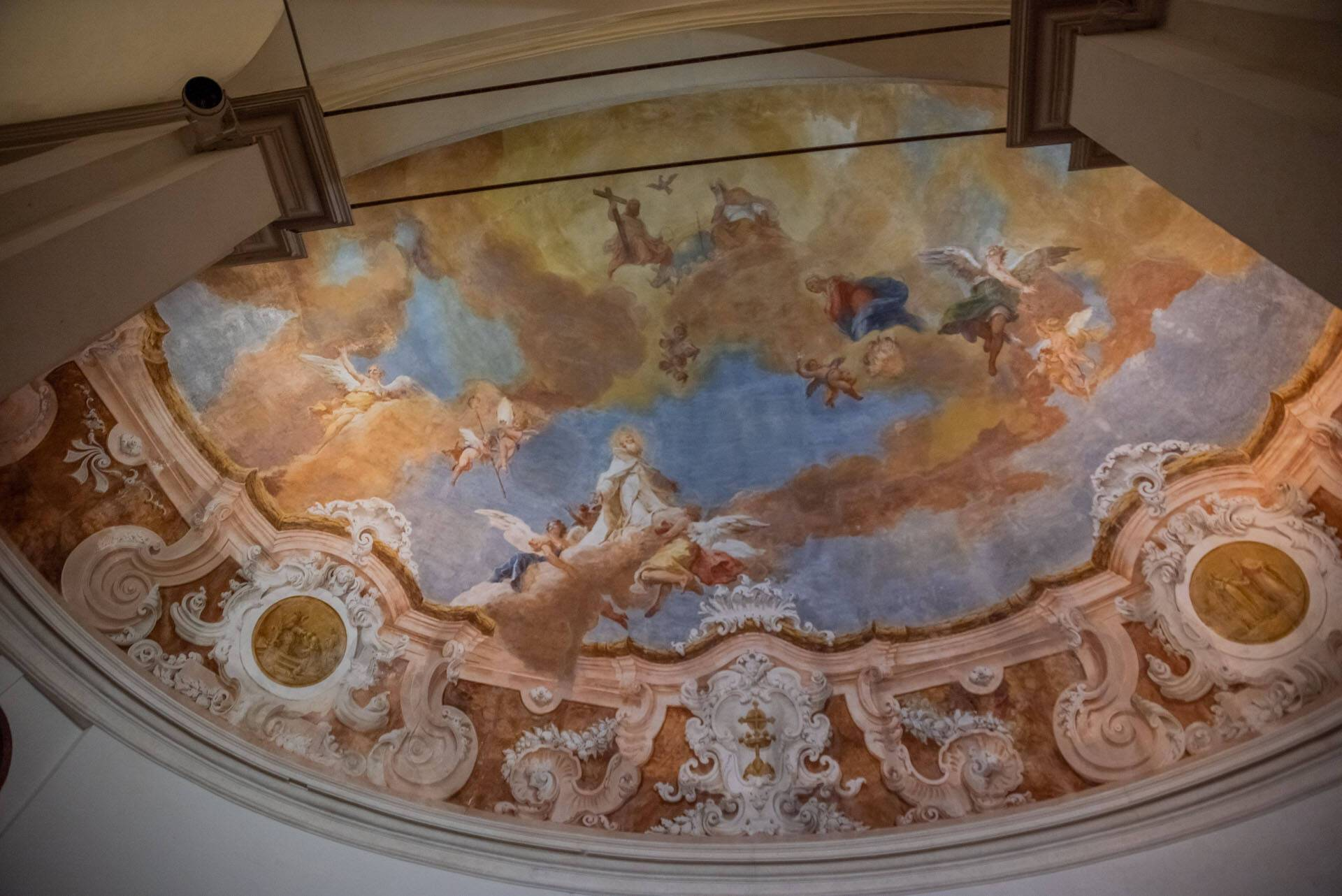 San Clemente Palace Venise Eglise Interieur