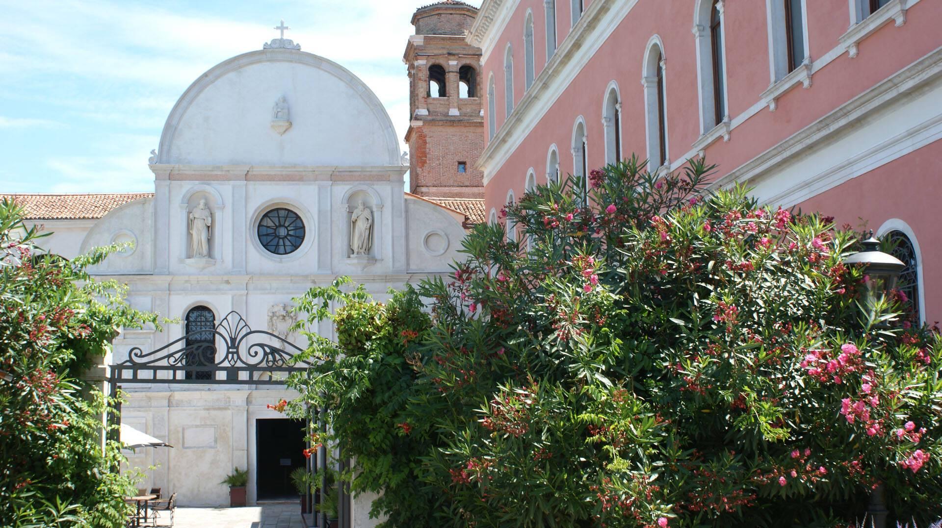 San Clemente Palace Venise Eglise