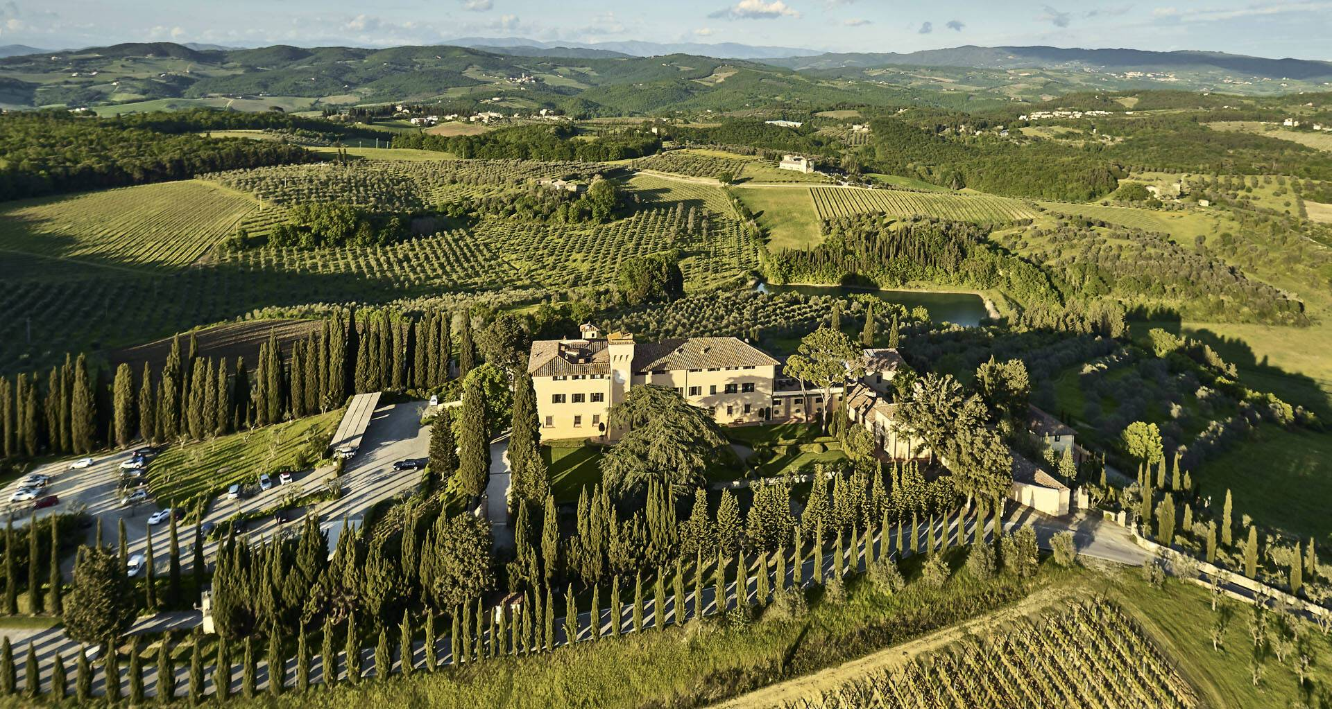 Como Castello del Nero Toscane Paysages