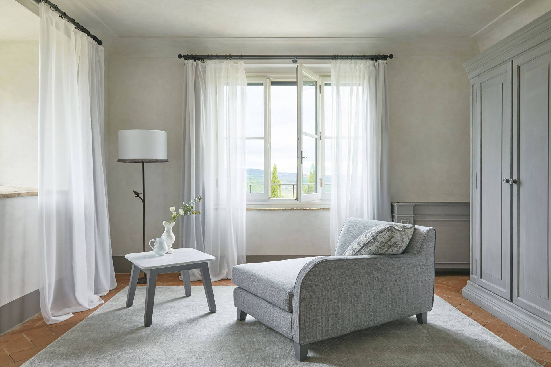 Como Castello del Nero Toscane Suite Living Room