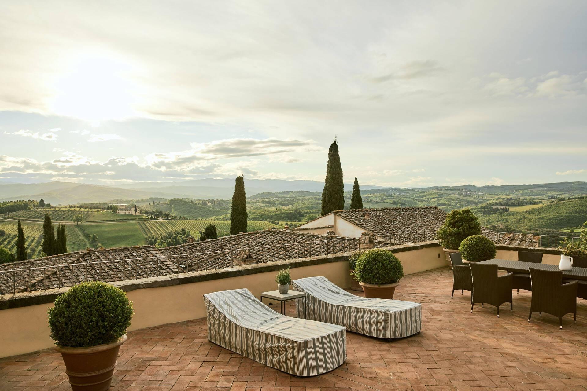 Como Castello del Nero Toscane Terrace Suite
