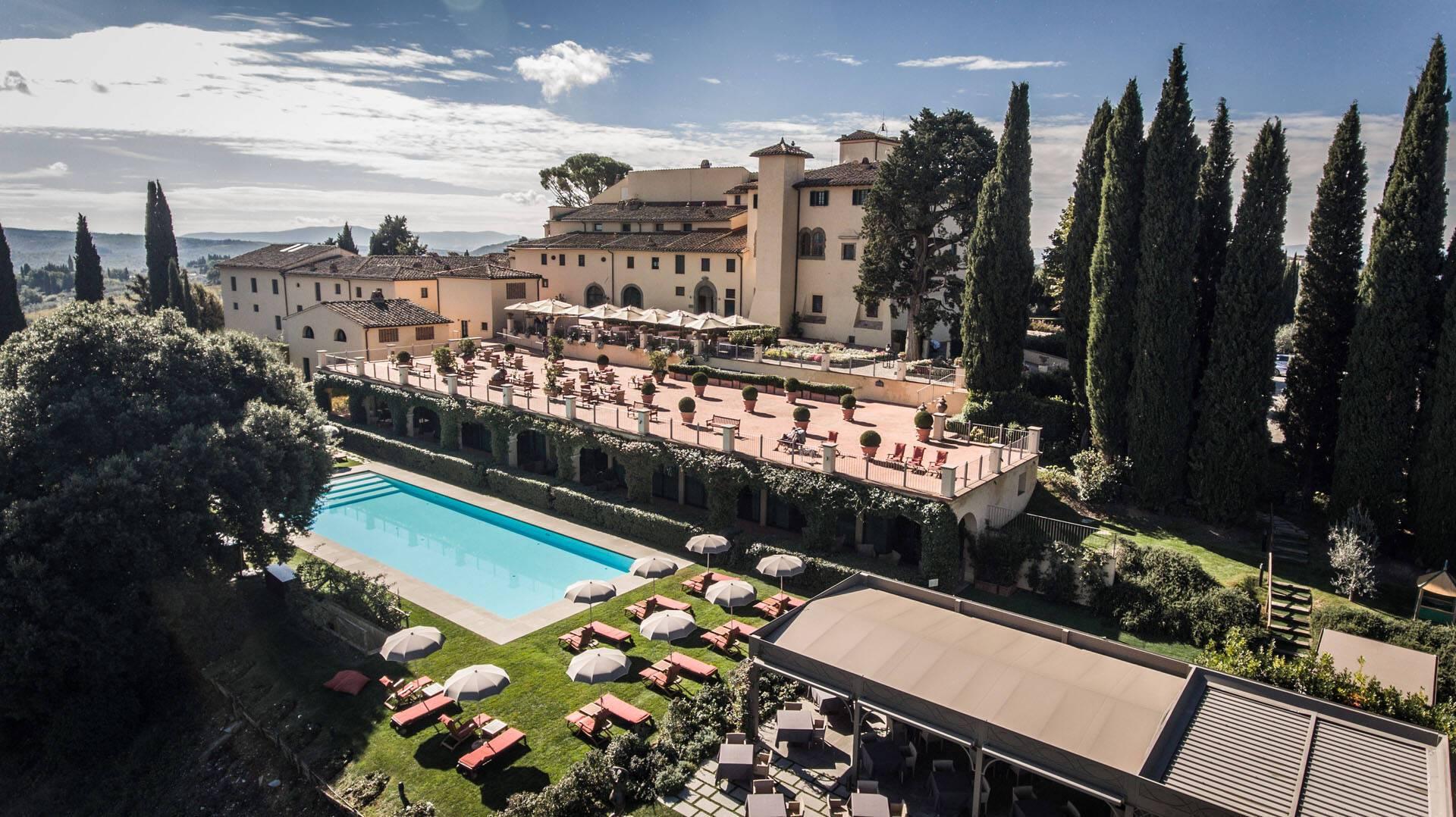 Como Castello del Nero Toscane Vue Domaine