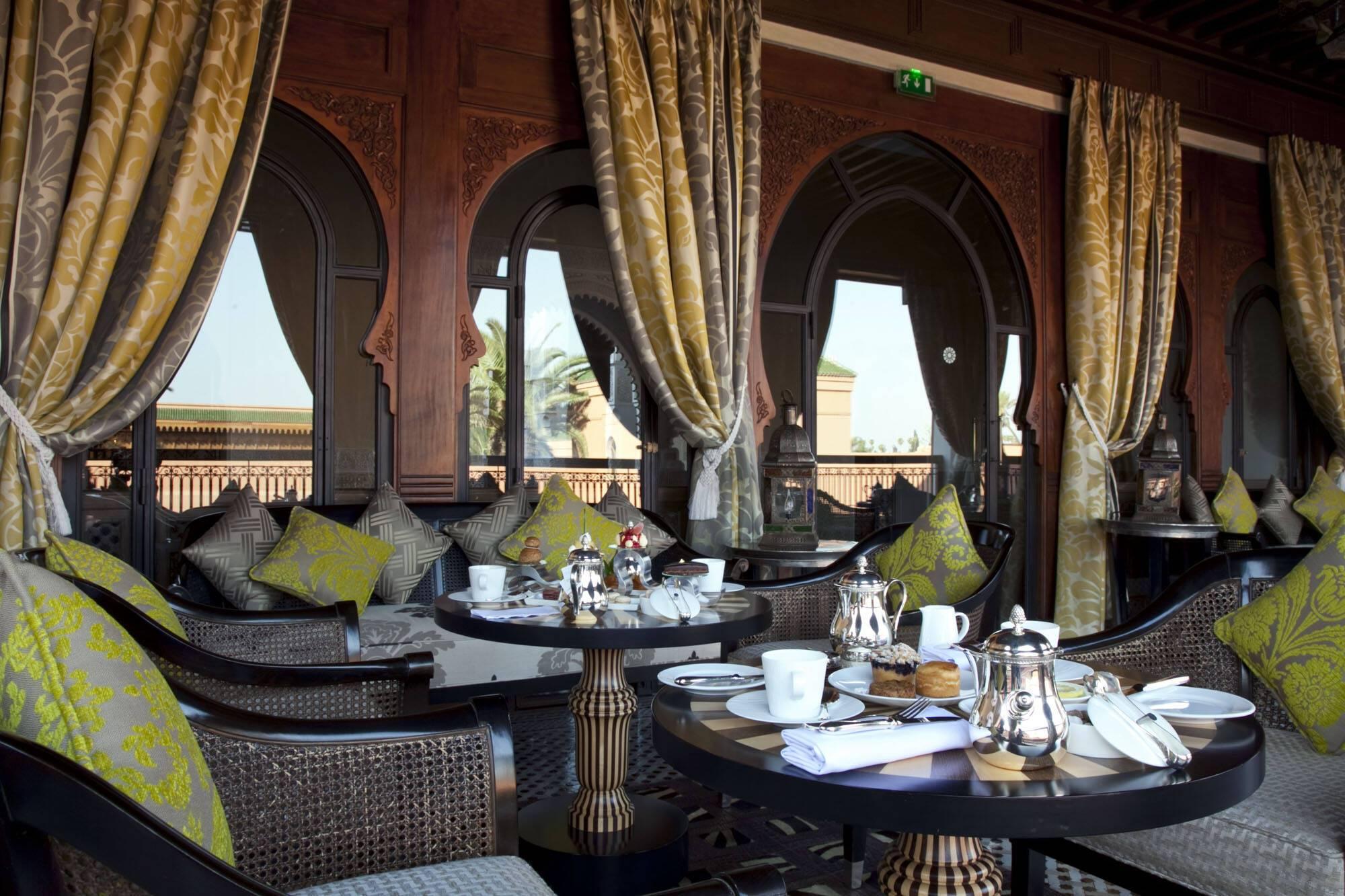 Royal Mansour Loggia Salon de The Marrakech Maroc
