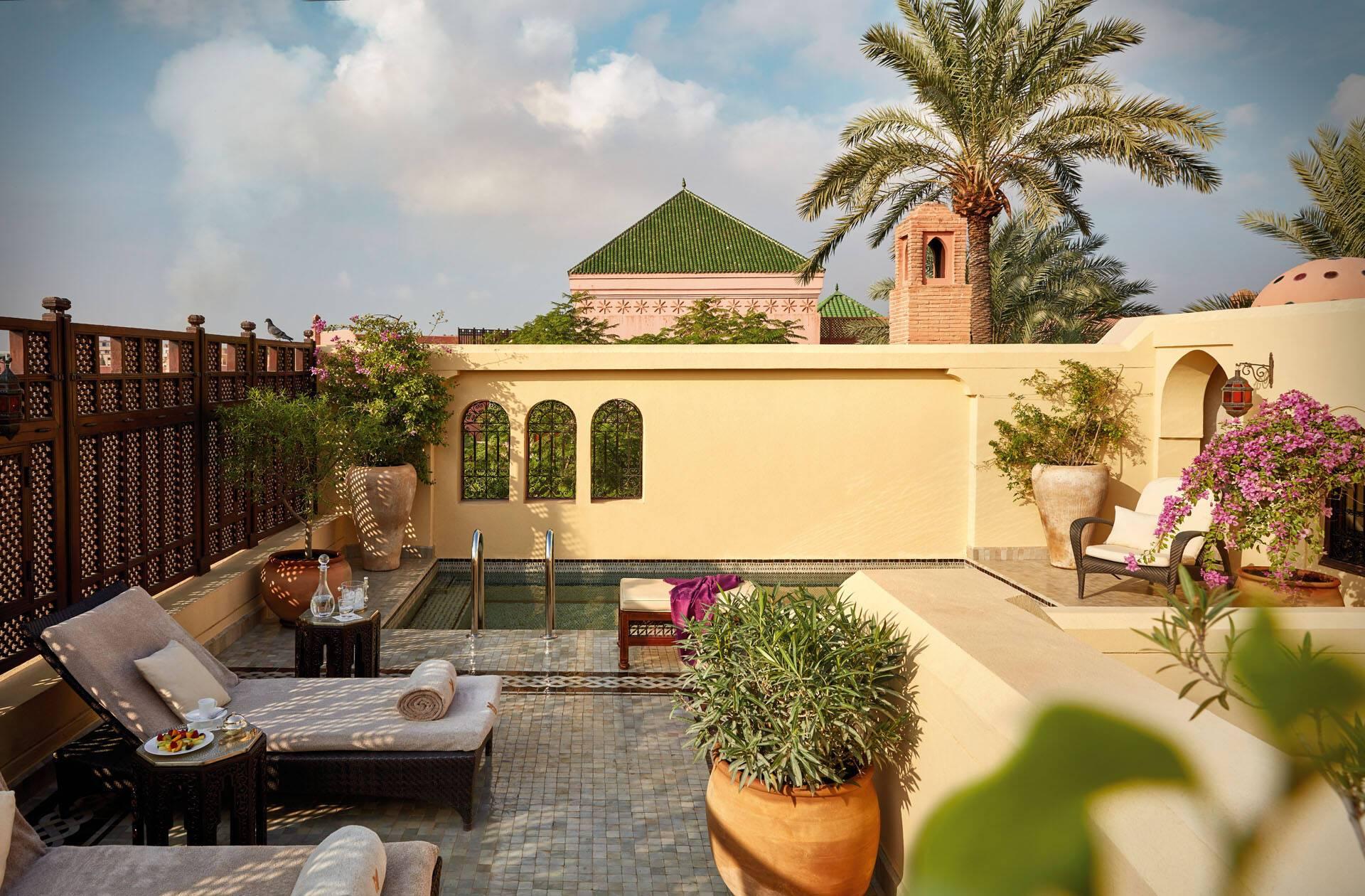 Royal Mansour Marrakech Terrasse