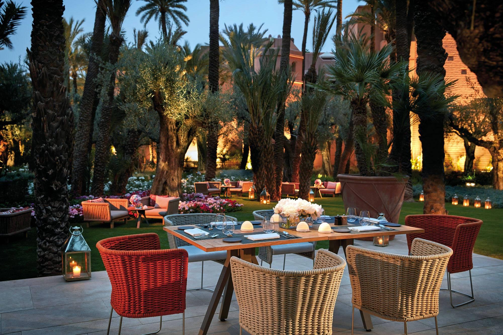 Royal Mansour Restaurant Jardin Marrakech Maroc