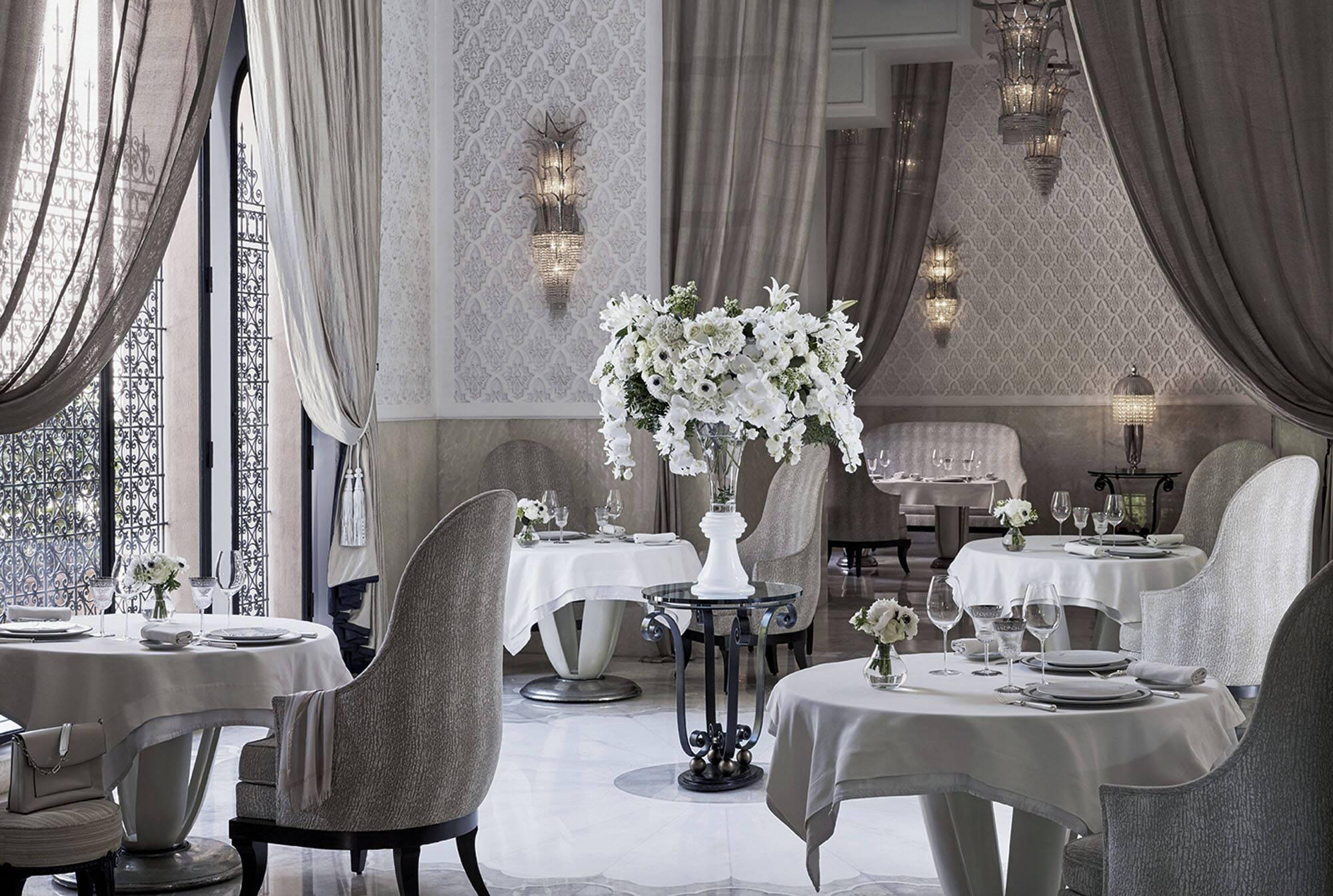 Royal Mansour Restaurant La Grande Table Marrakech Maroc