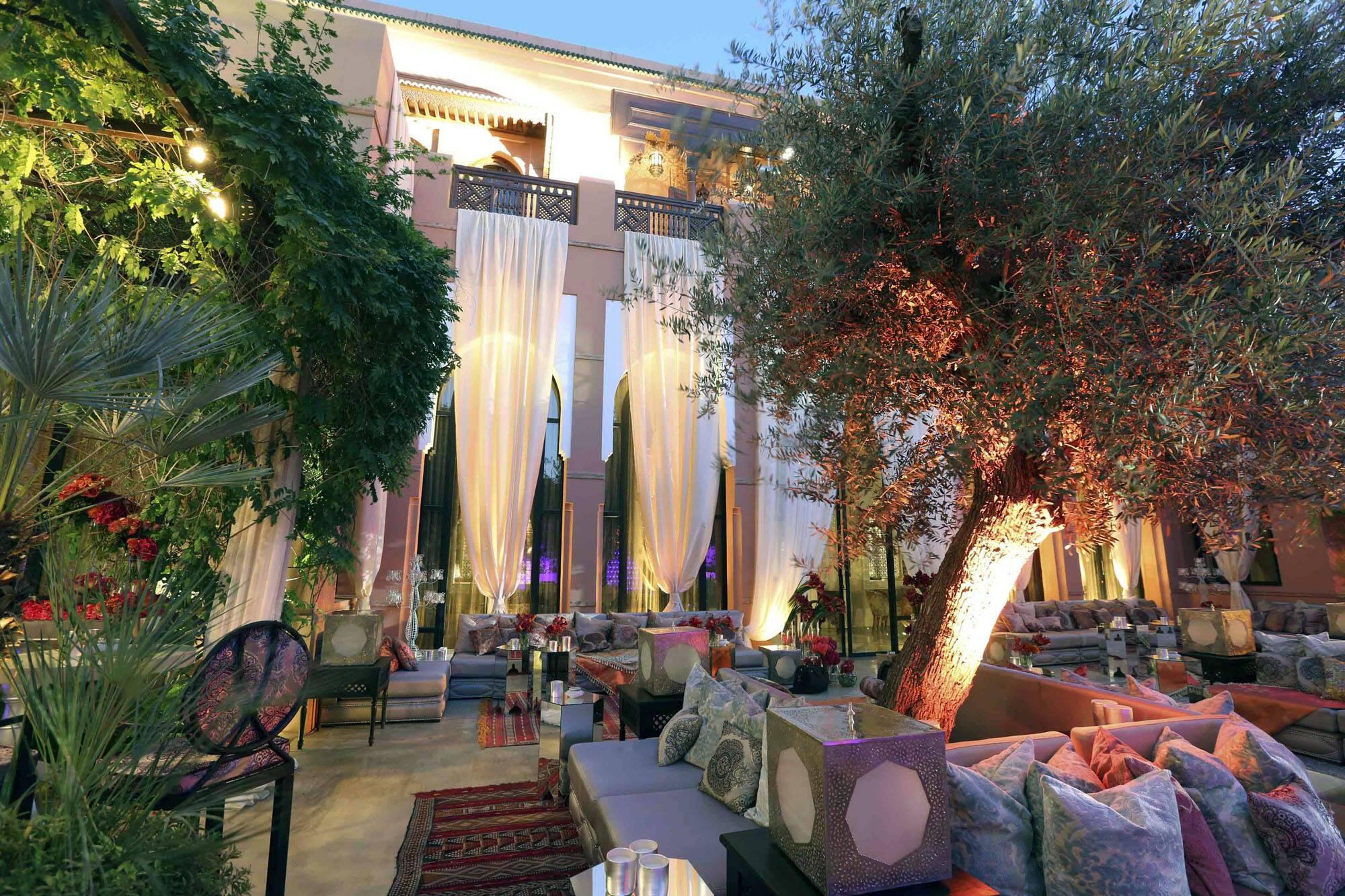 Royal Mansour Terrasse Exterieur Marrakech Maroc