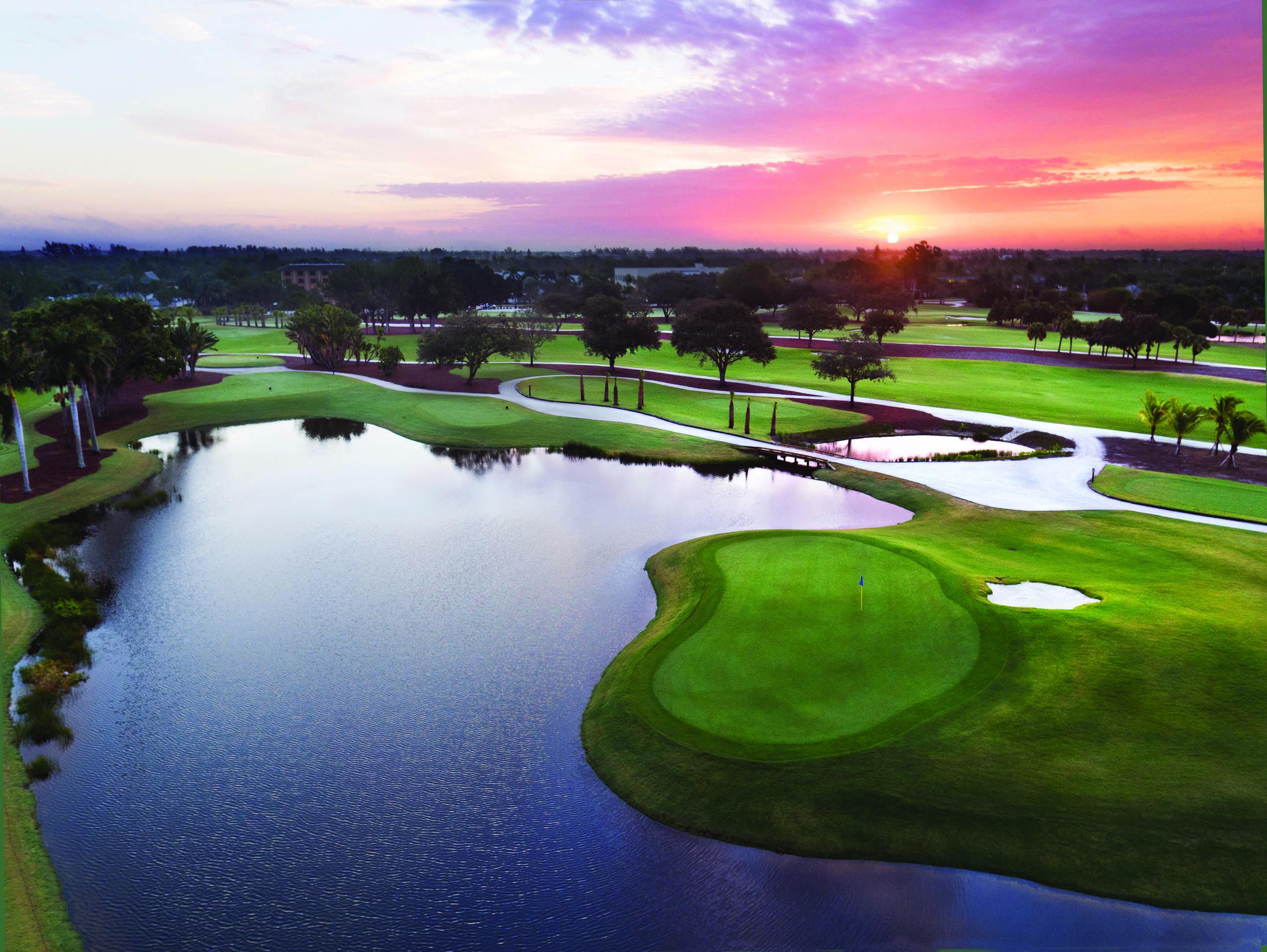 Naples Beach Golf Vue Aerienne Floride Jennifer Brinkman