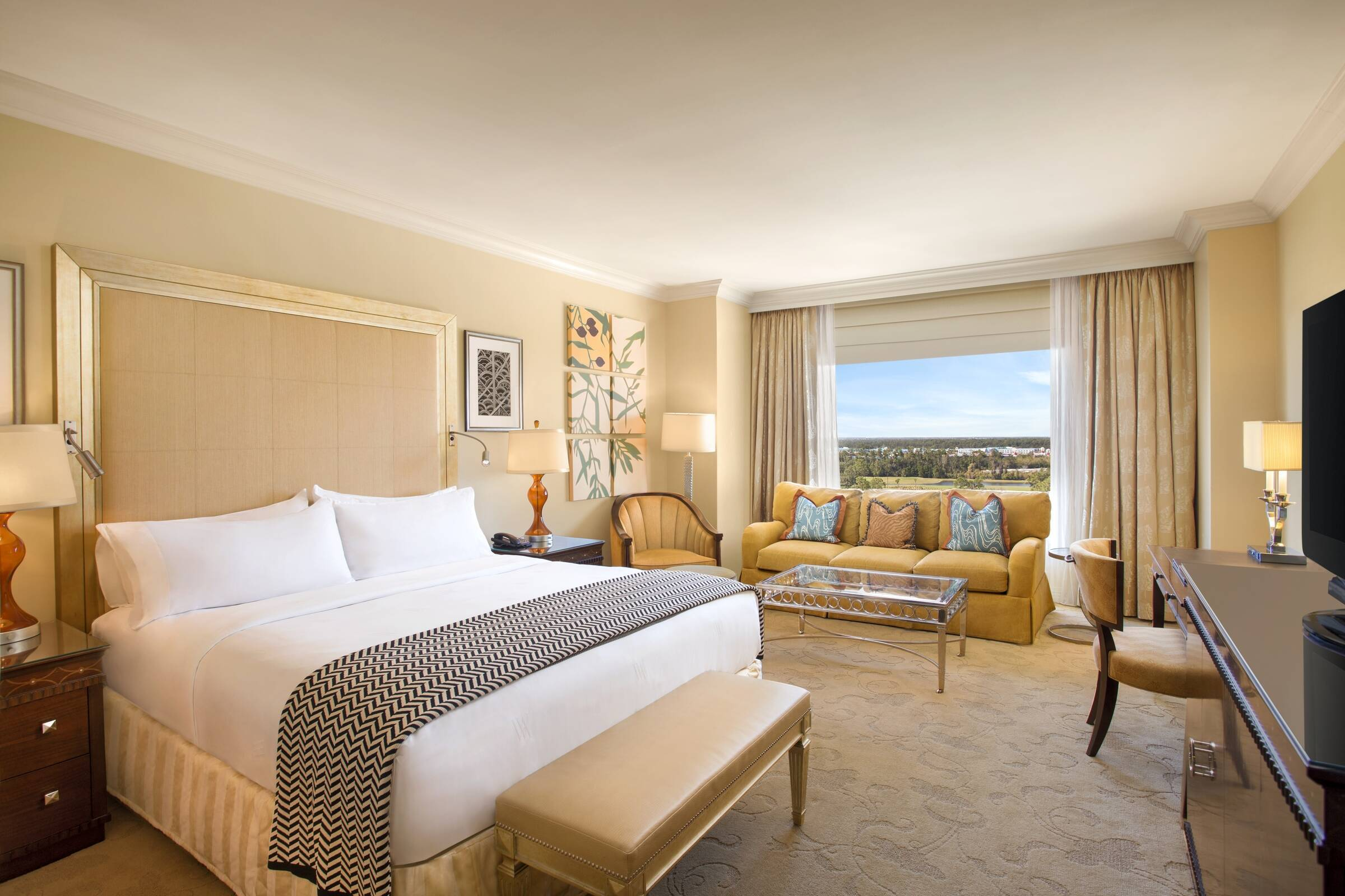 Orlando Waldorf Astoria Deluxe Room Circuit Floride