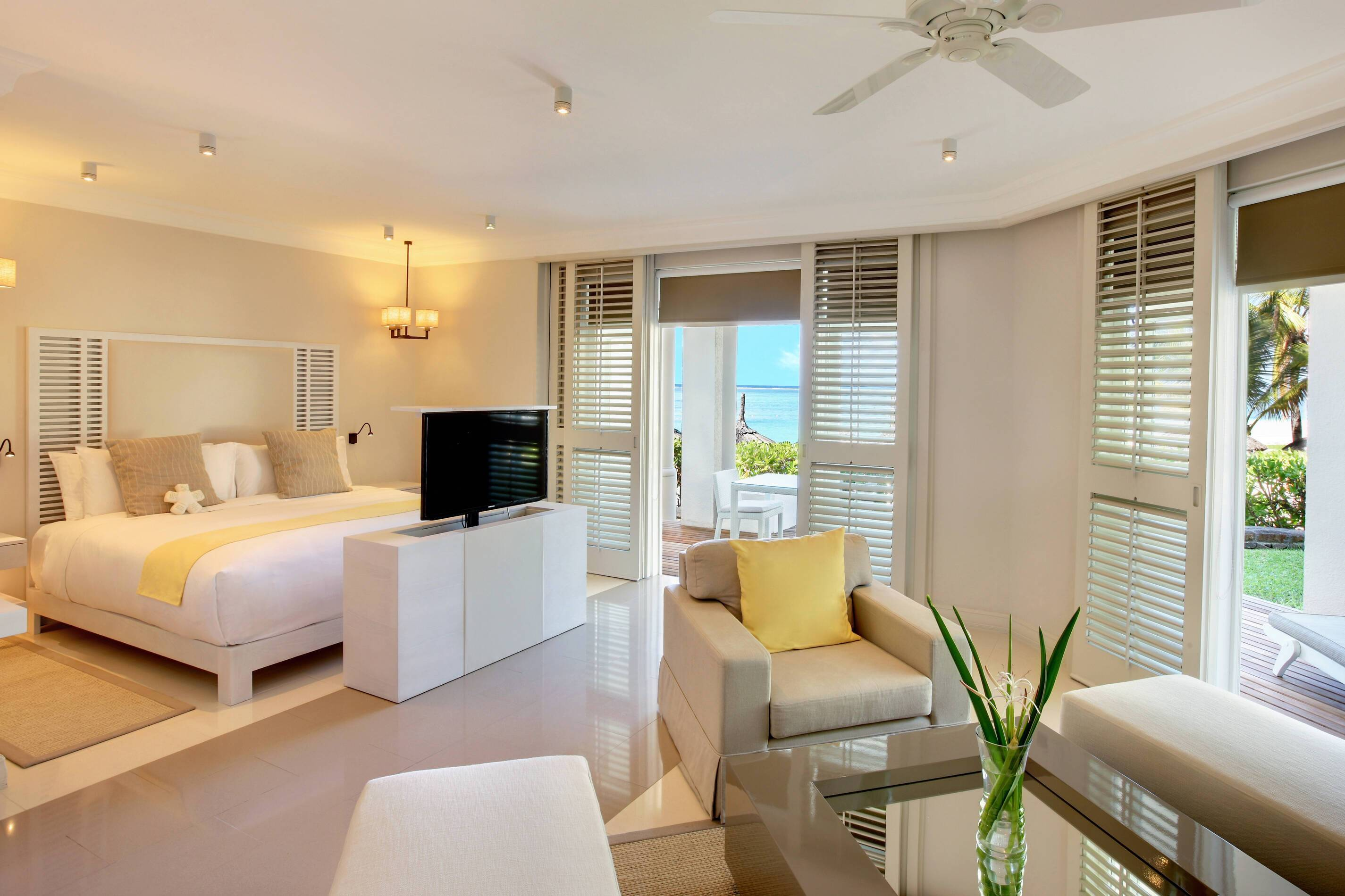 Lux Belle Mare Lagoon Suite Chambre Maurice