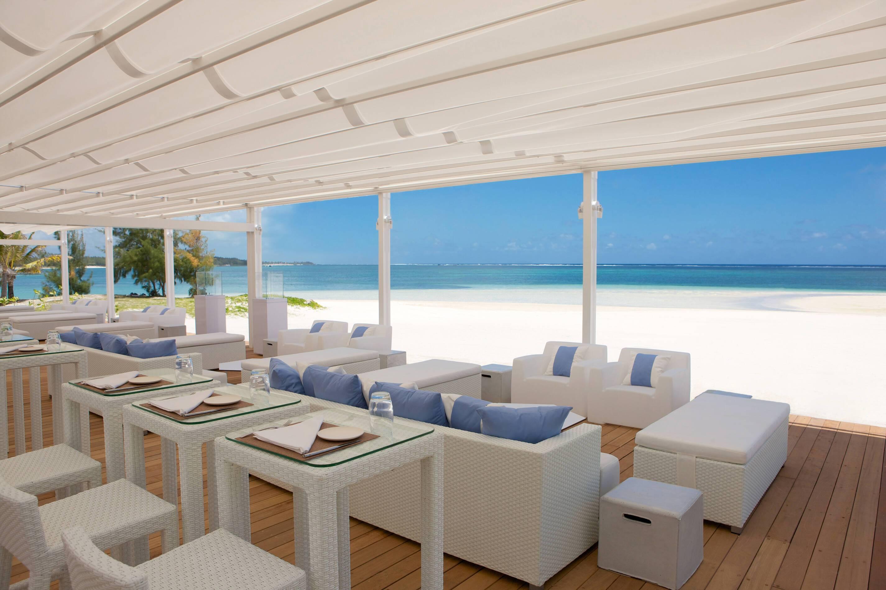 Lux Belle Mare Restaurant Vue Plage Maurice