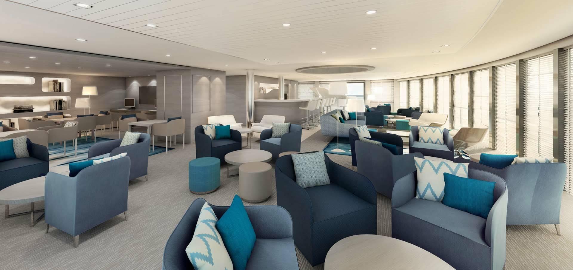 Ponant Croisiere Antarctique Lounge