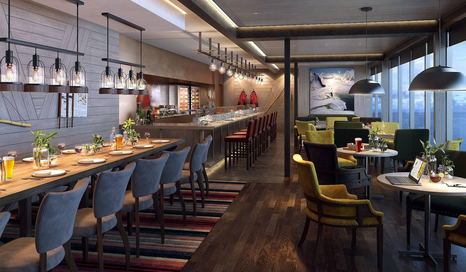 Restaurant Croisiere Hurtigruten Islande
