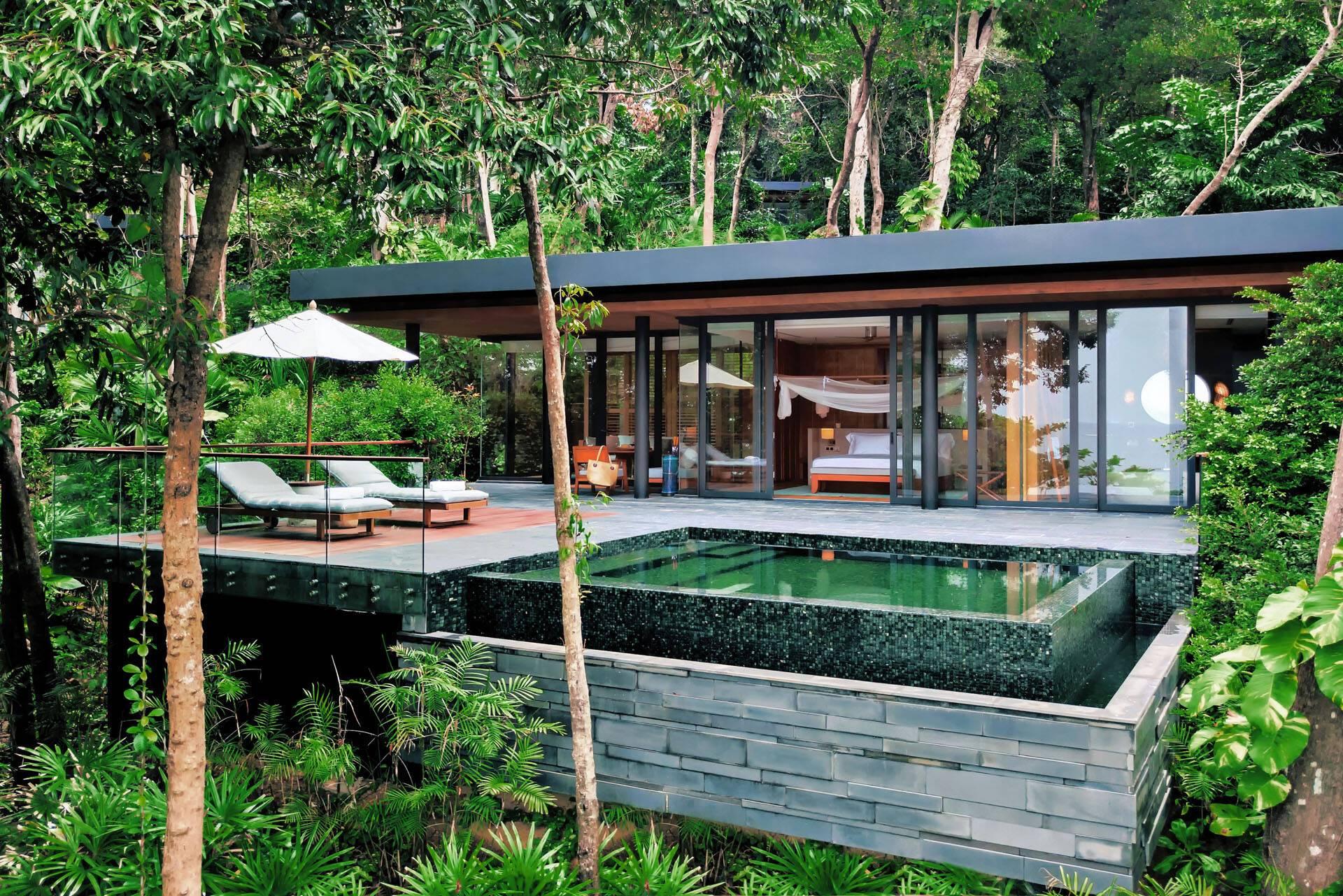 Six Senses Krabey Island Cambodge Ocean Pool Villa Suite2