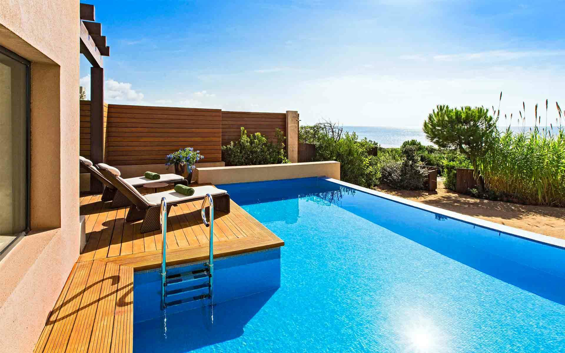 The Romanos Costa Navarino Suite Premium Grand Infinity Terrasse Grece