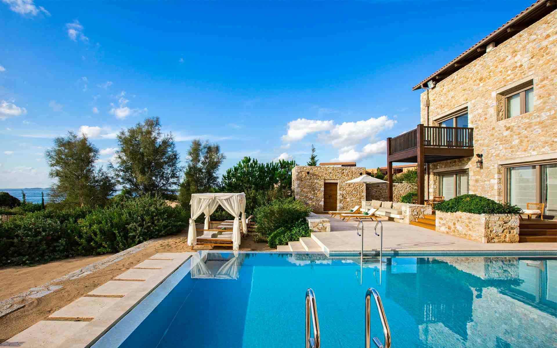 The Romanos Costa Navarino Villa Methoni Exterieur Grece