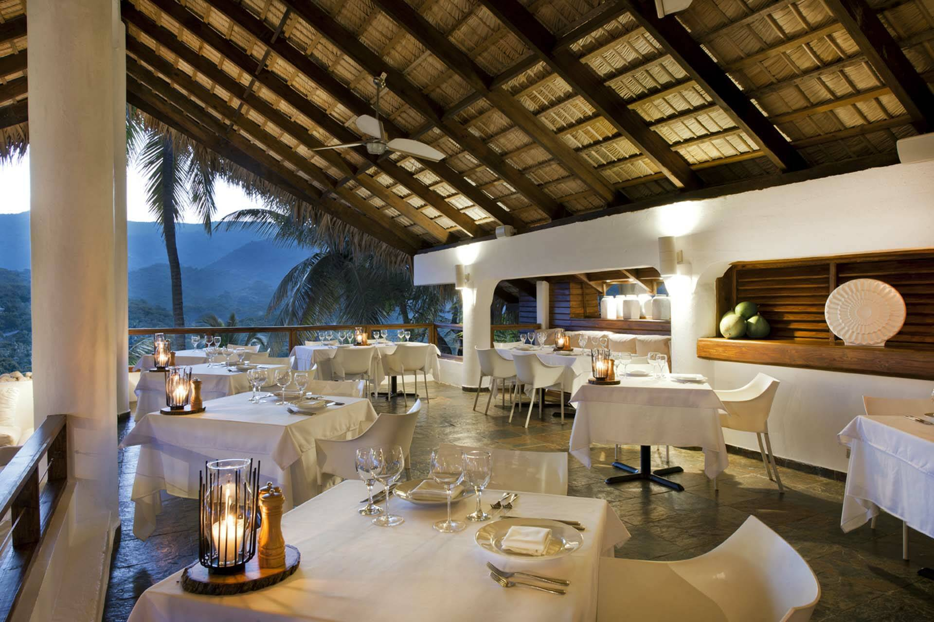 Casa Bonita Tropical Lodge Republique Dominicaine Restaurant
