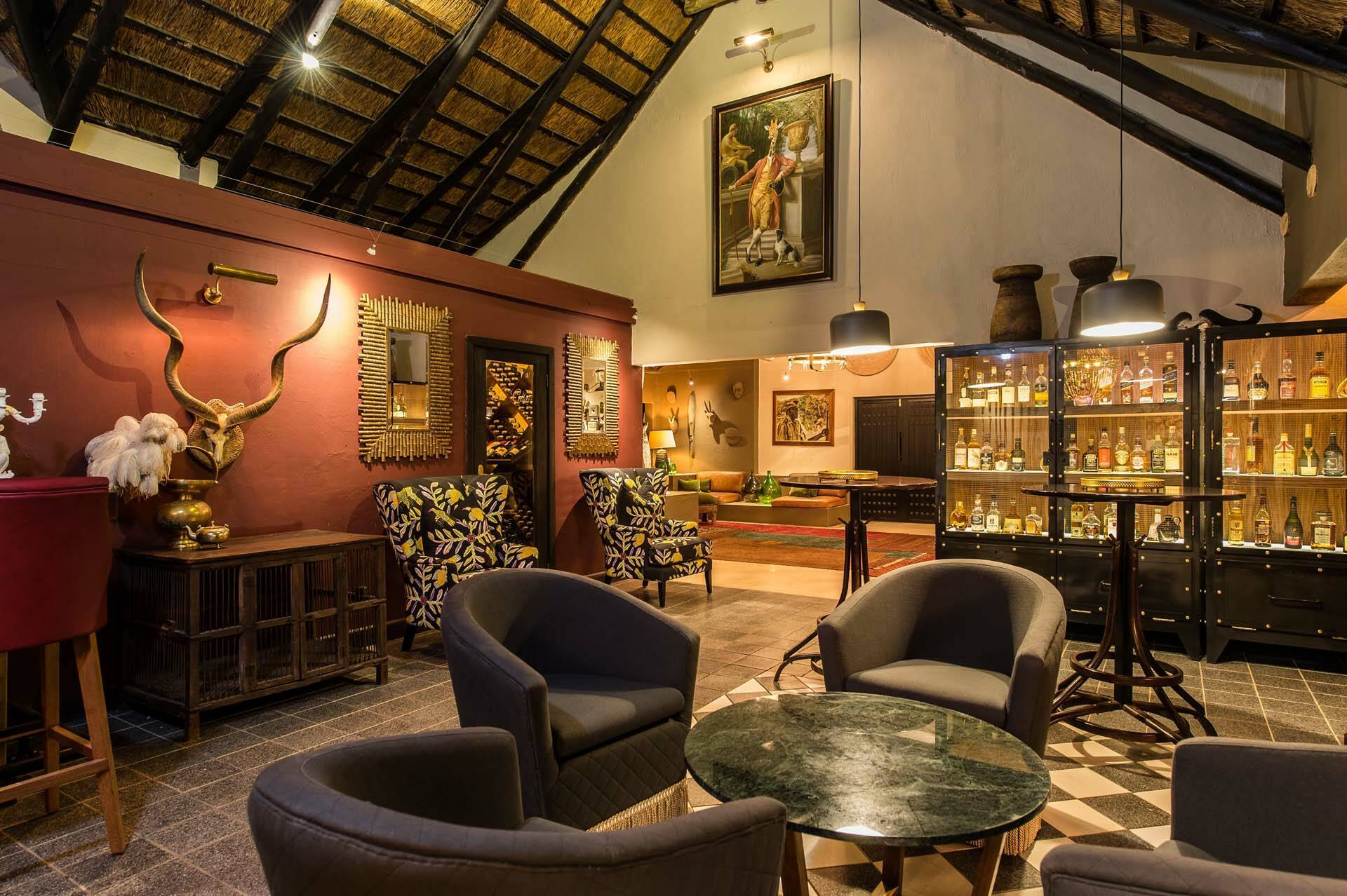 Sabi Sabi Bush Lodge Afrique du Sud Bar