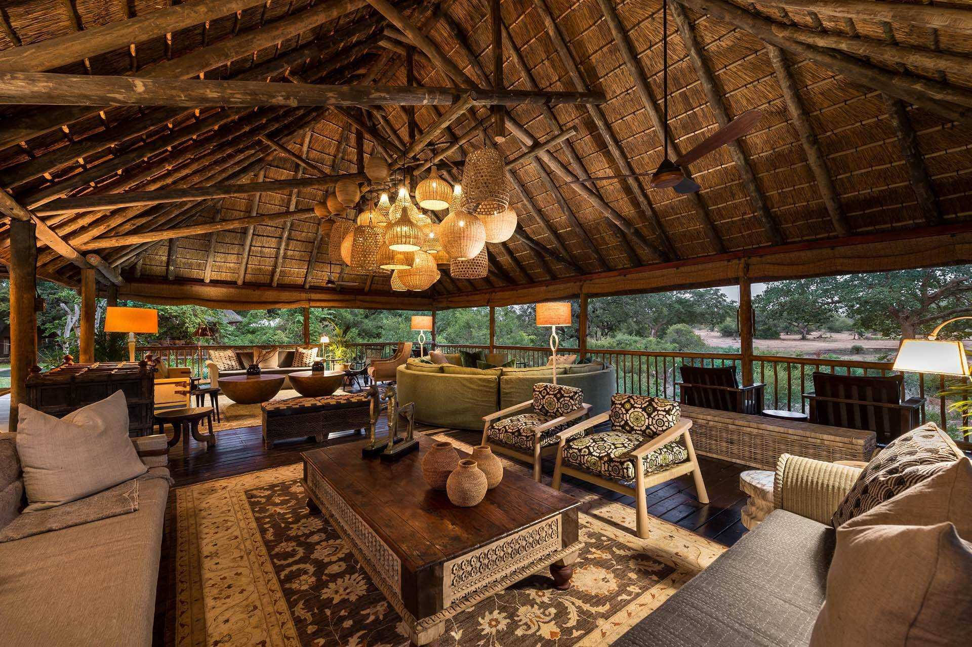 Sabi Sabi Bush Lodge Afrique du Sud Terrasse