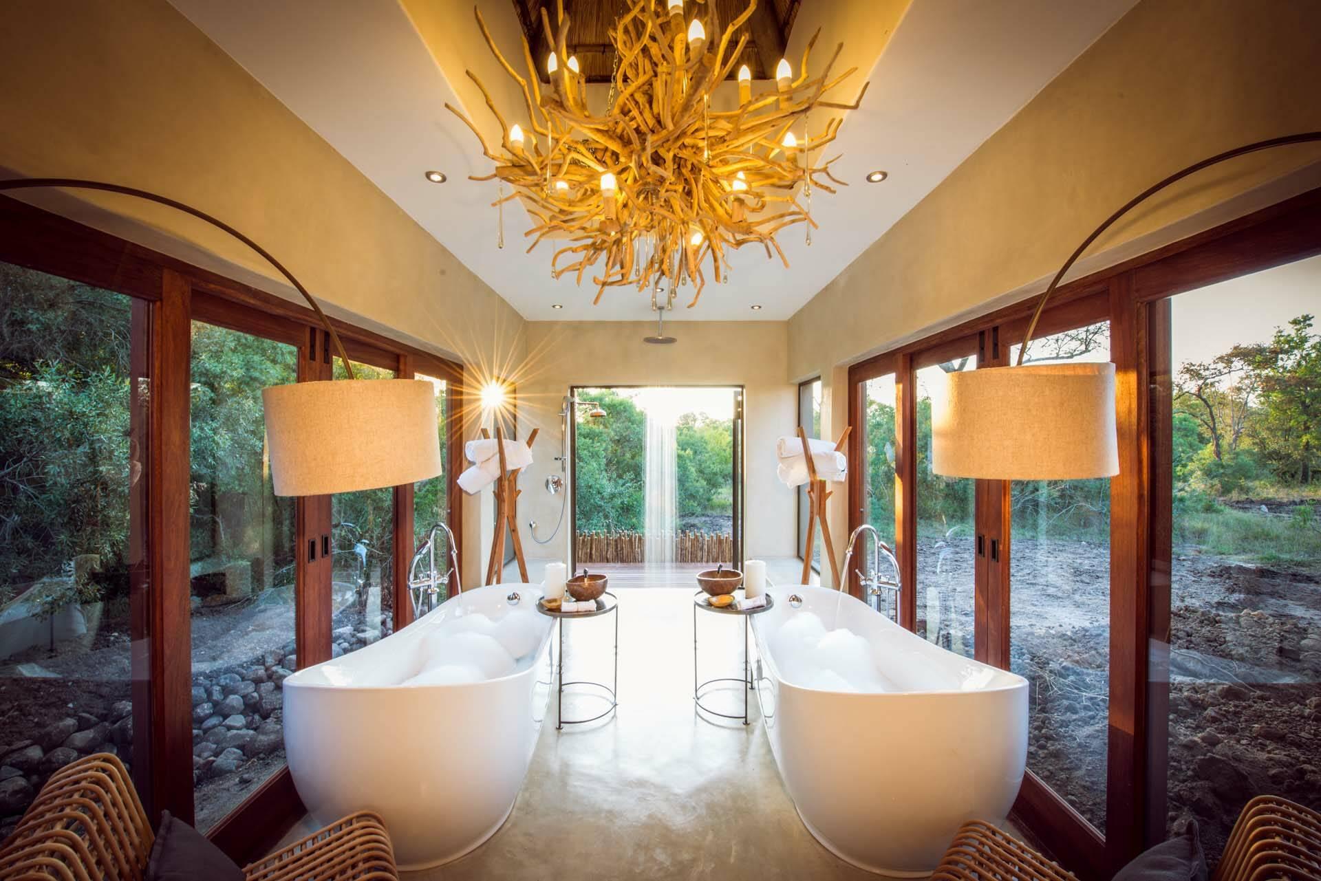 Sabi Sabi Bush Lodge Afrique du Sud Villa Salle Bains