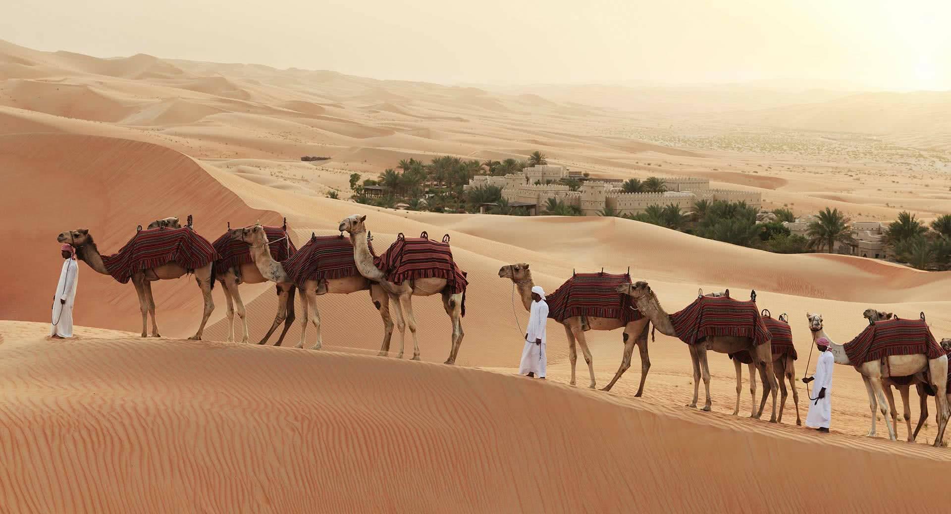 Abu Dhabi Anantara Qasr al Sarab Desert