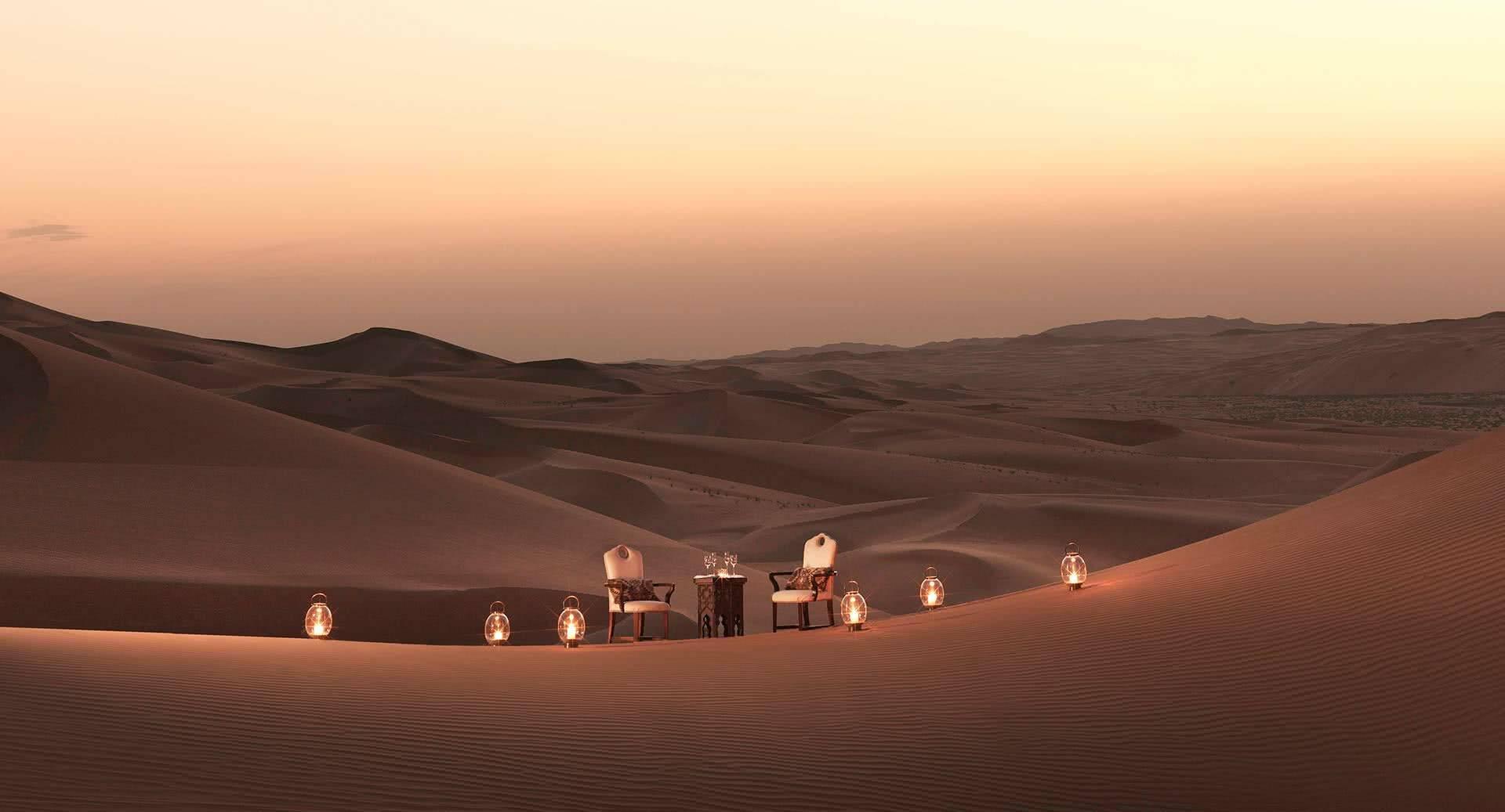 Abu Dhabi Anantara Qasr al Sarab Desert Diner
