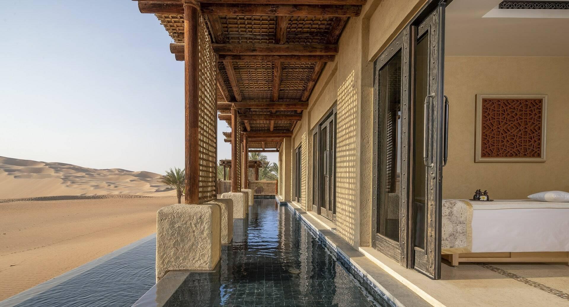 Abu Dhabi Anantara Qasr al Sarab Desert Spa Piscine