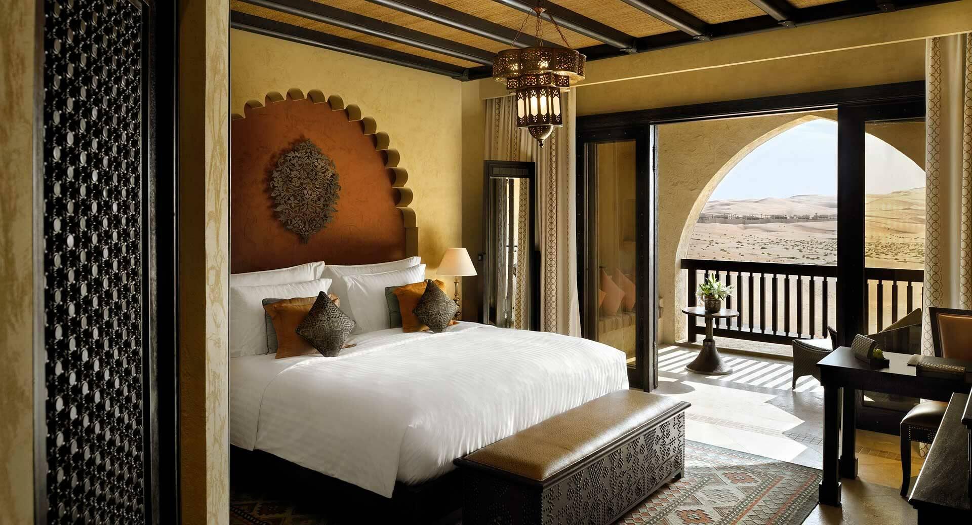 Abu Dhabi Anantara Qasr al Sarab Desert deluxe balcony room