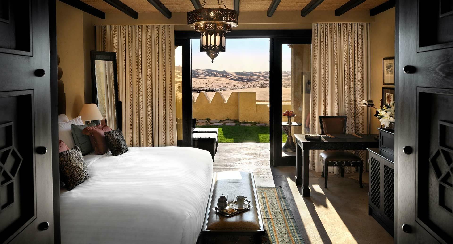 Abu Dhabi Anantara Qasr al Sarab Desert deluxe garden view room