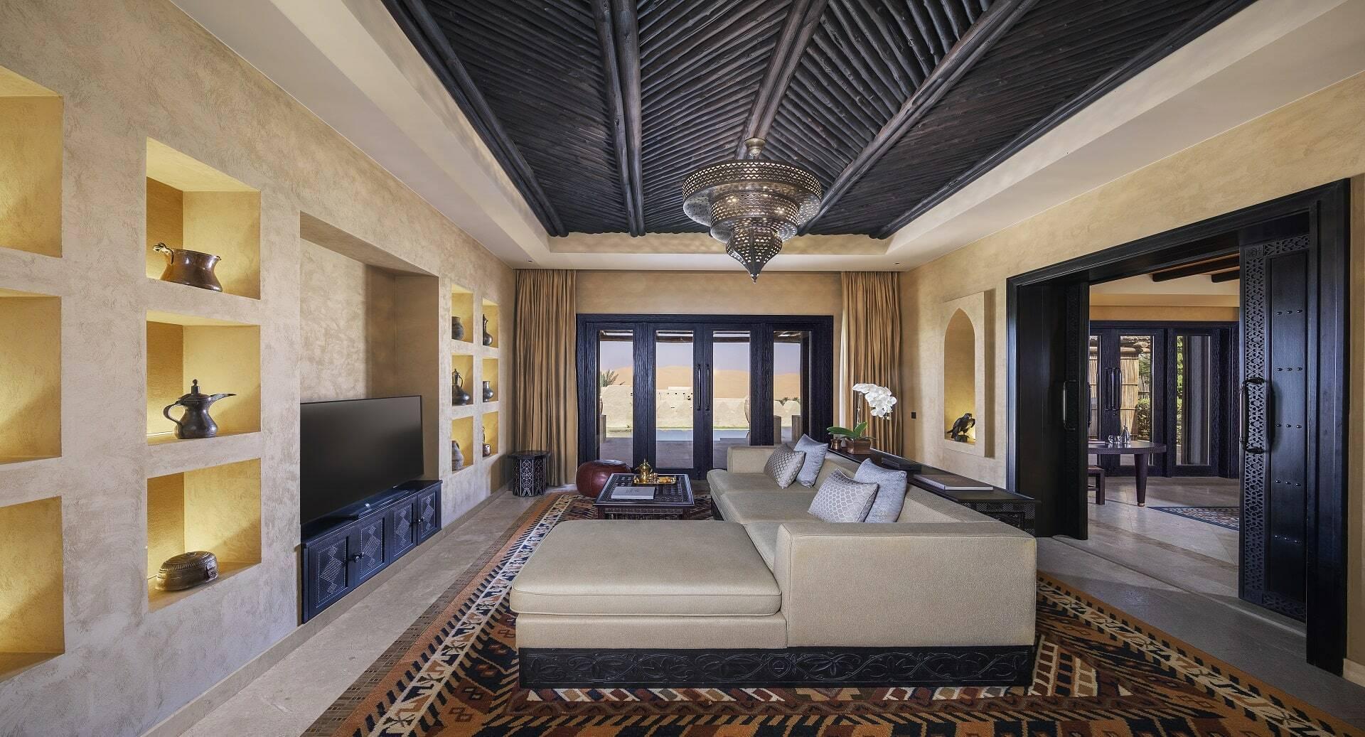 Abu Dhabi Anantara Qasr al Sarab Desert guest room one bedroom villa