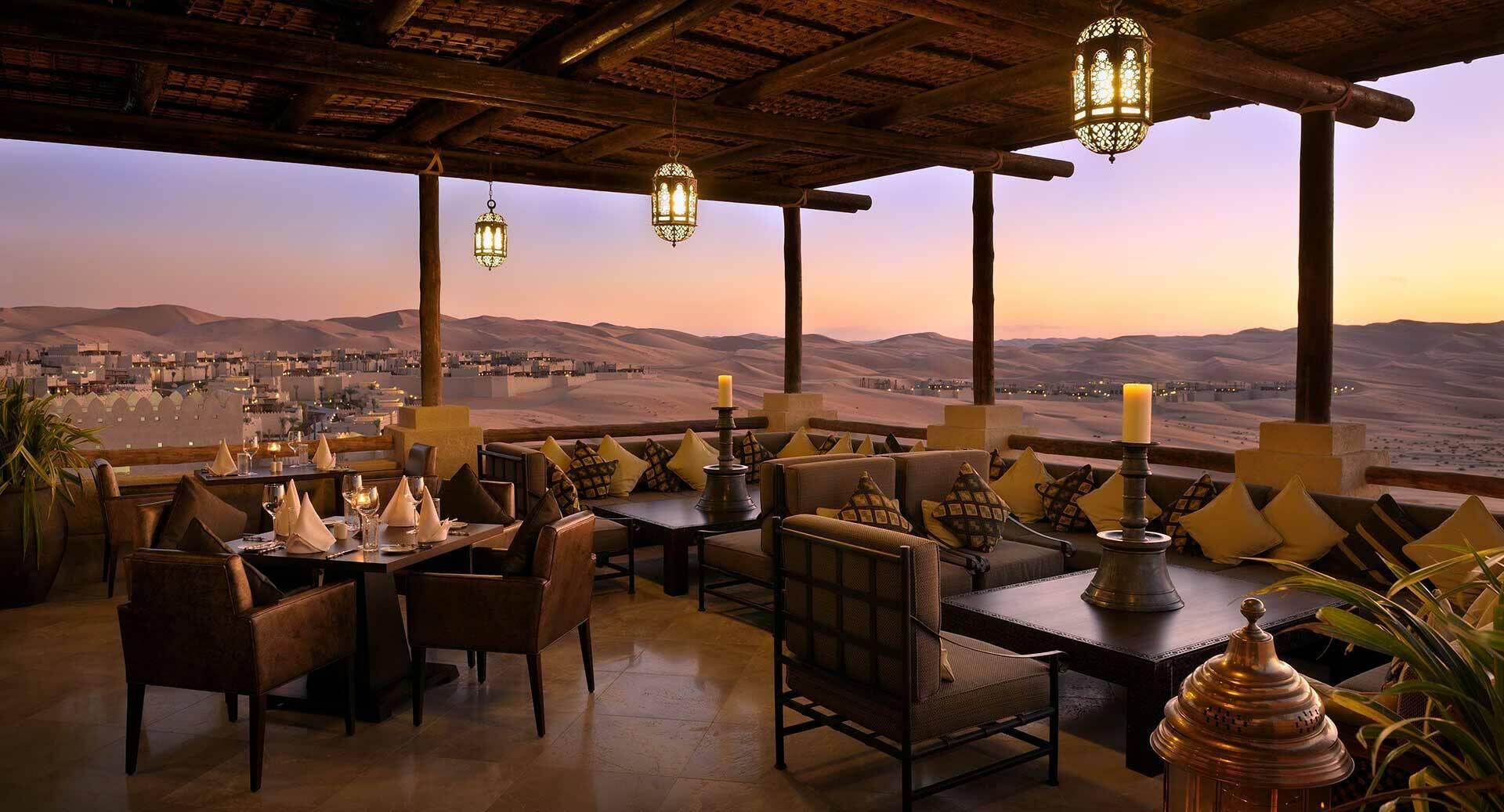 Abu Dhabi Anantara Qasr al Sarab Desert suhail restaurant