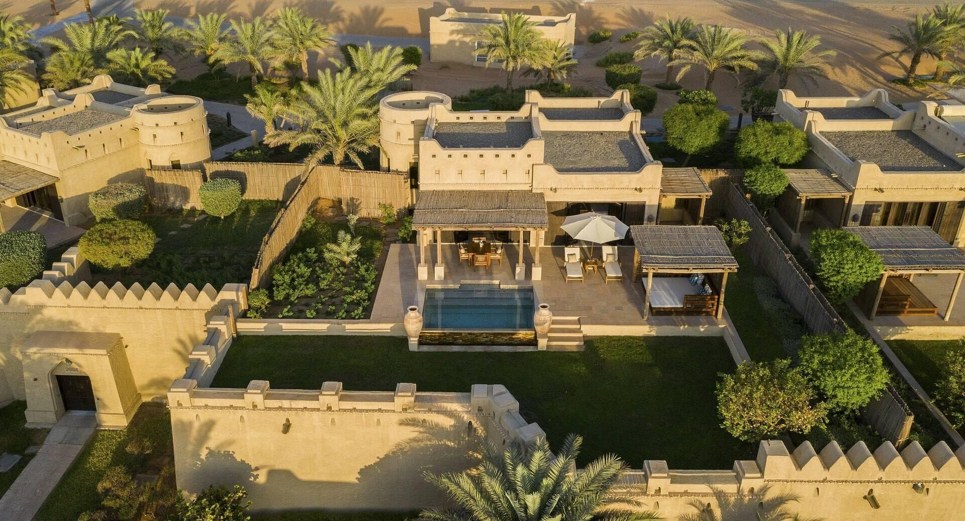Abu Dhabi Anantara Qasr al Sarab Desert villa